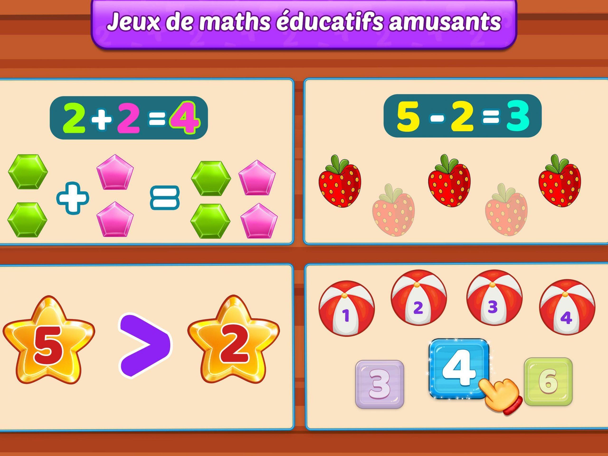 Jeux De Maths Enfants - Addition Et Soustraction Pour dedans Jeux De Maths Gratuit
