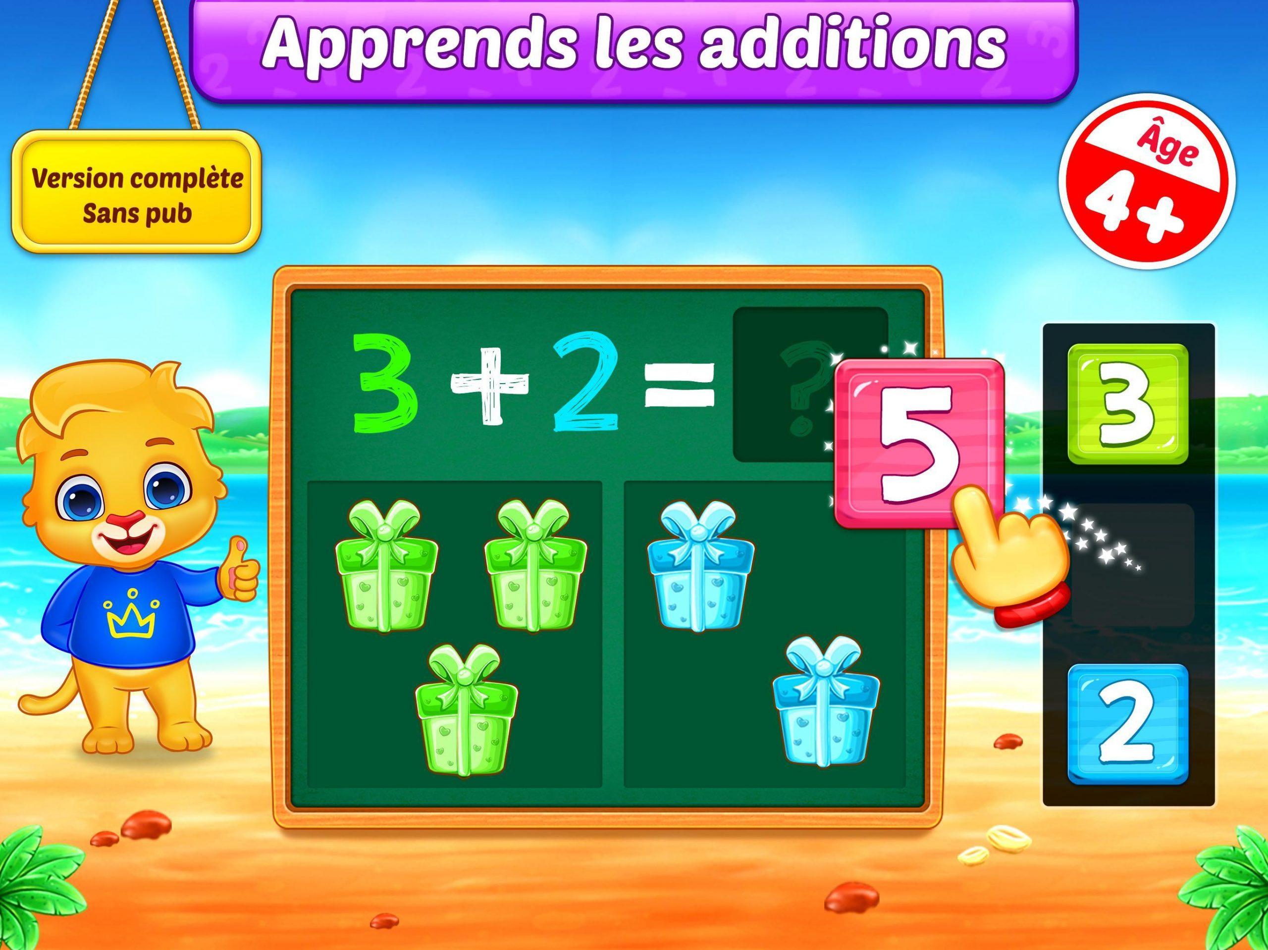 Jeux De Maths Enfants - Addition Et Soustraction Pour destiné Jeux De Maths Gratuit
