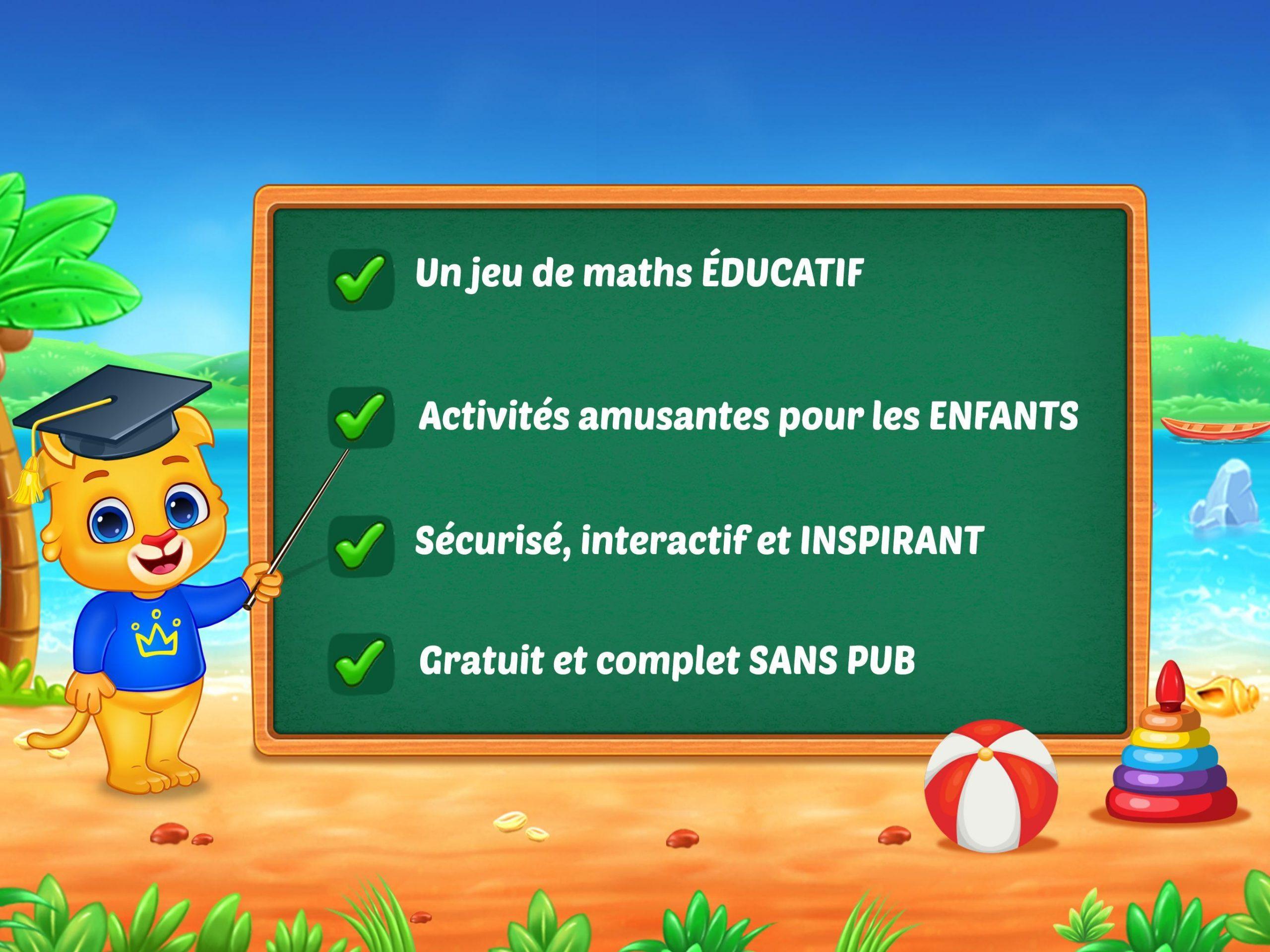 Jeux De Maths Enfants - Addition Et Soustraction Pour intérieur Jeux De Maths Gratuit