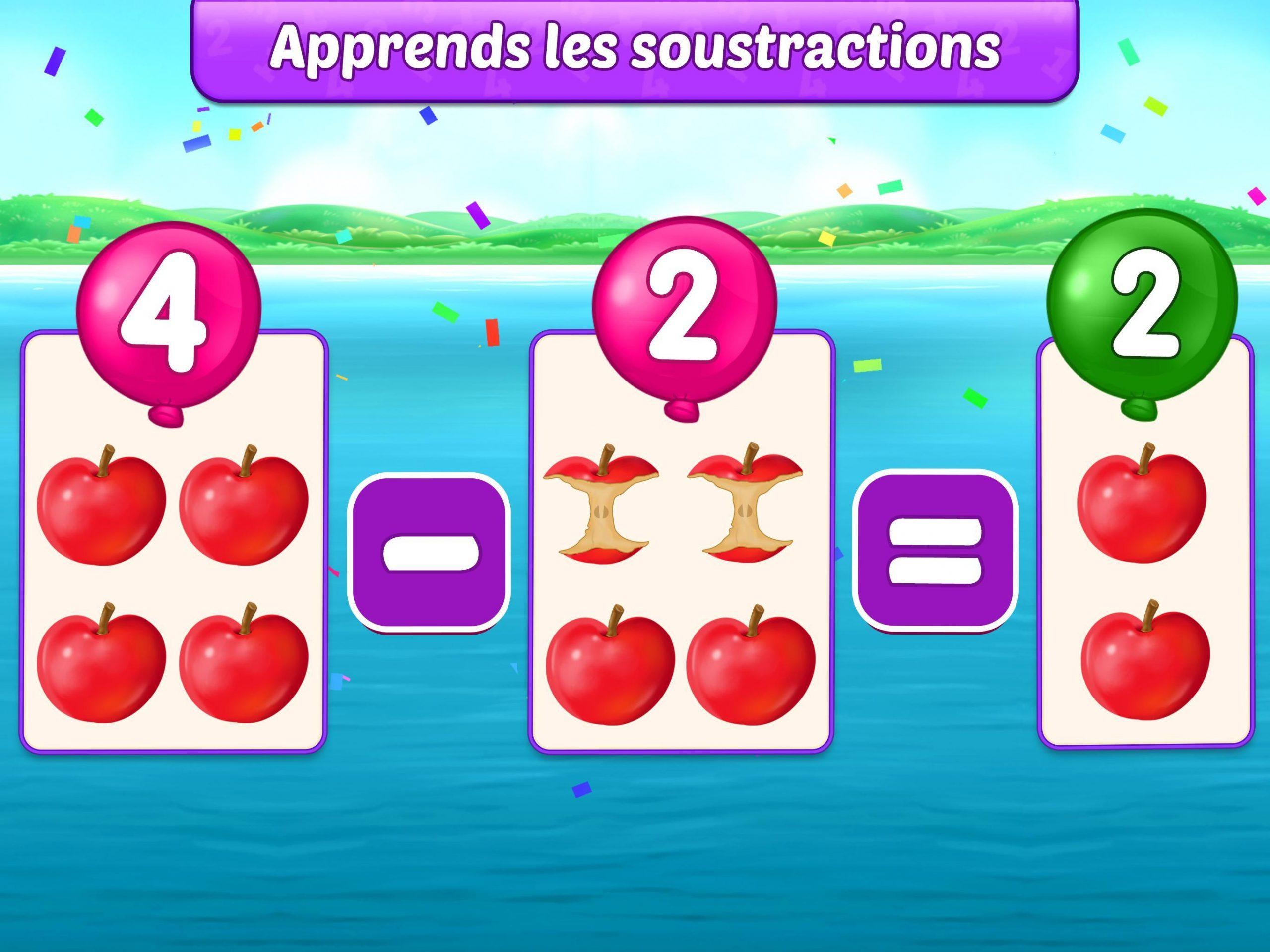 Jeux De Maths Enfants - Addition Et Soustraction Pour tout Jeux De Maths Gratuit