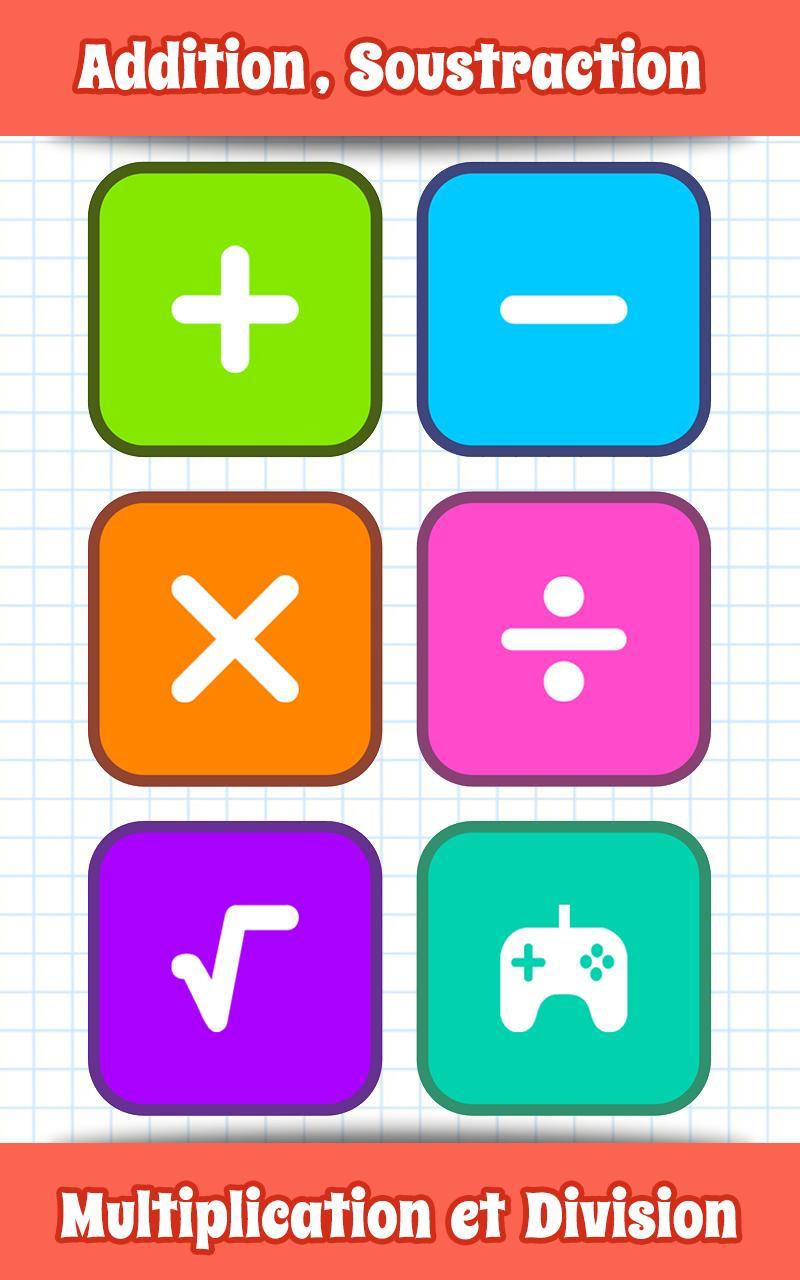 Jeux De Maths Pour Android - Téléchargez L'apk concernant Jeux De Maths Gratuit