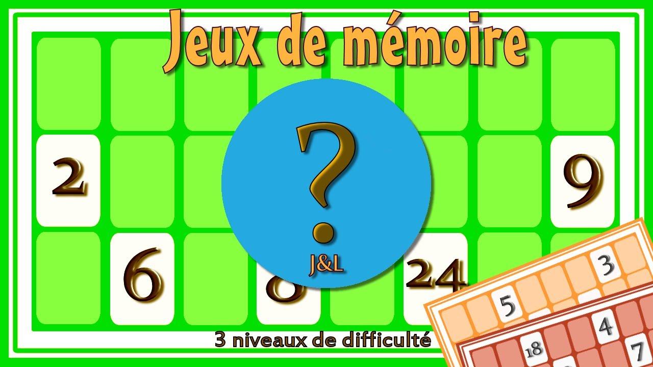 Jeux De Mémoire Par Les Nombres | 9 Petits Jeux Sympas Pour Améliorer Ta  Mémoire | Jeu Gratuit pour Jeux Memoire Gratuit