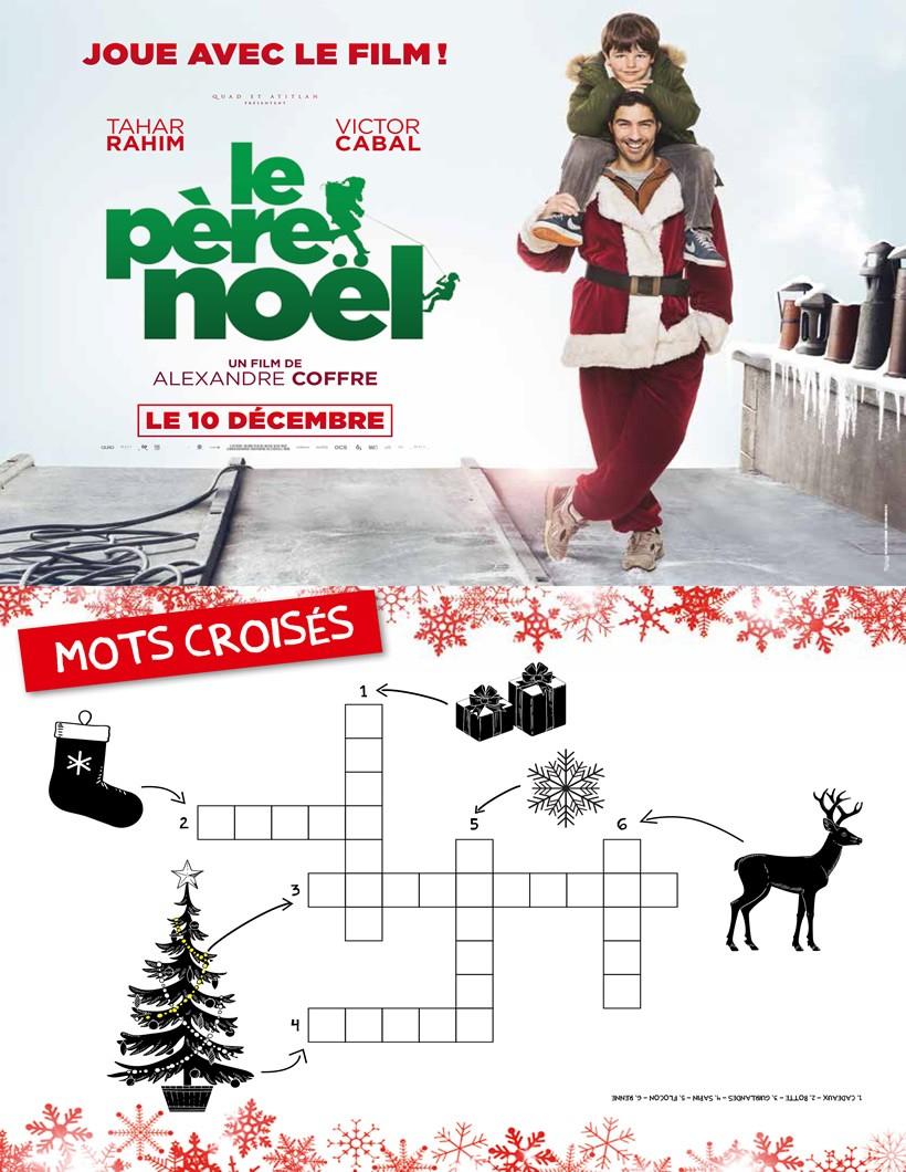Jeux De Mots-Croisés Le Père Noël, Le Film - Fr.hellokids à Mots Croisés Noel