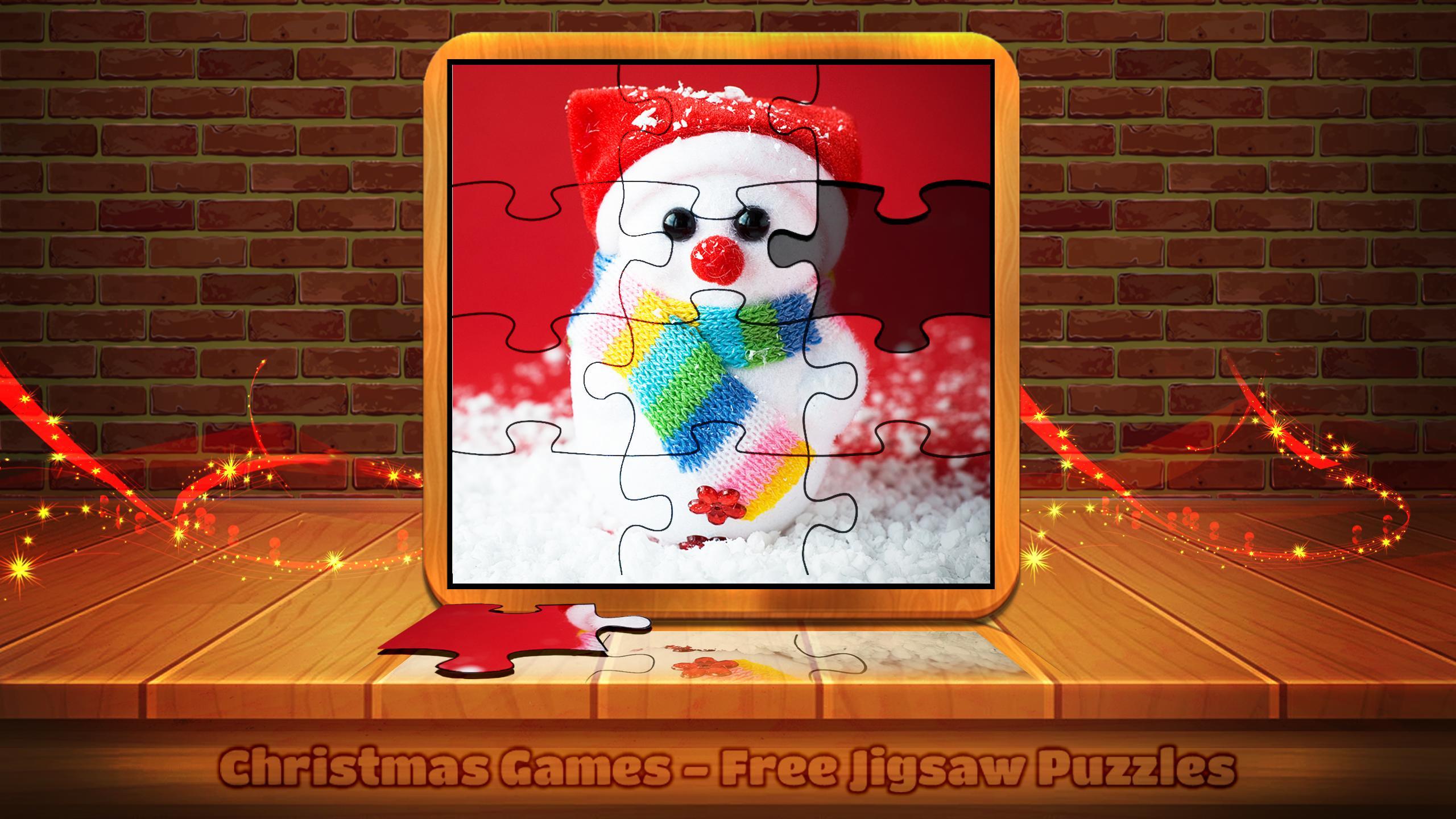 Jeux De Noël - Jigsaw Puzzles Gratuits Pour Android dedans Puzzle Gratuit A Telecharger Pour Tablette
