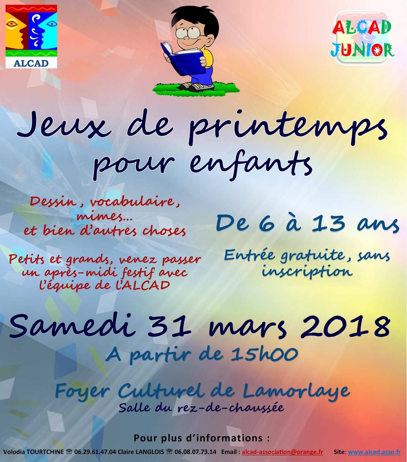 Jeux De Printemps Pour Enfants - Alcad pour Jeux Pour Enfan Gratuit
