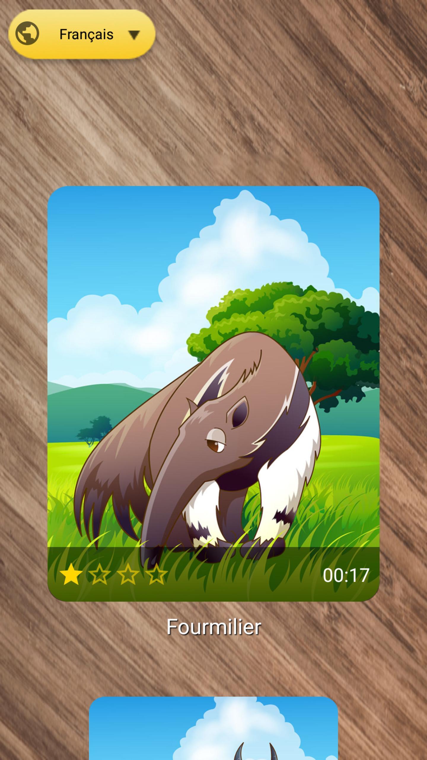 Jeux De Puzzle D'animaux Gratuit Pour Android - Téléchargez à Jeux D Animaux Gratuit