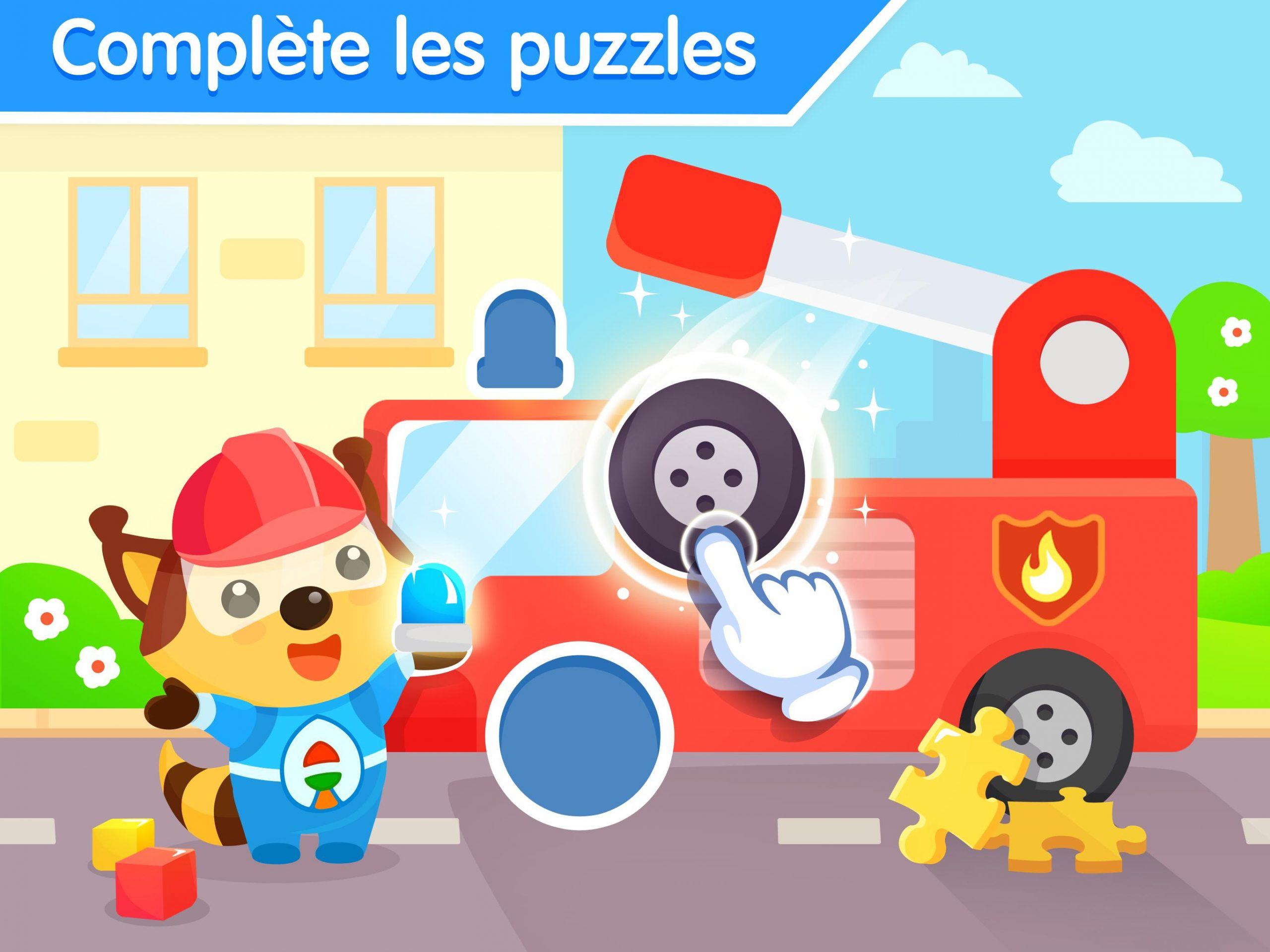 Jeux De Puzzle Pour Bebe 3 Ans - Jeu Éducatif Pour Android concernant Jeux Gratuit 3 Ans