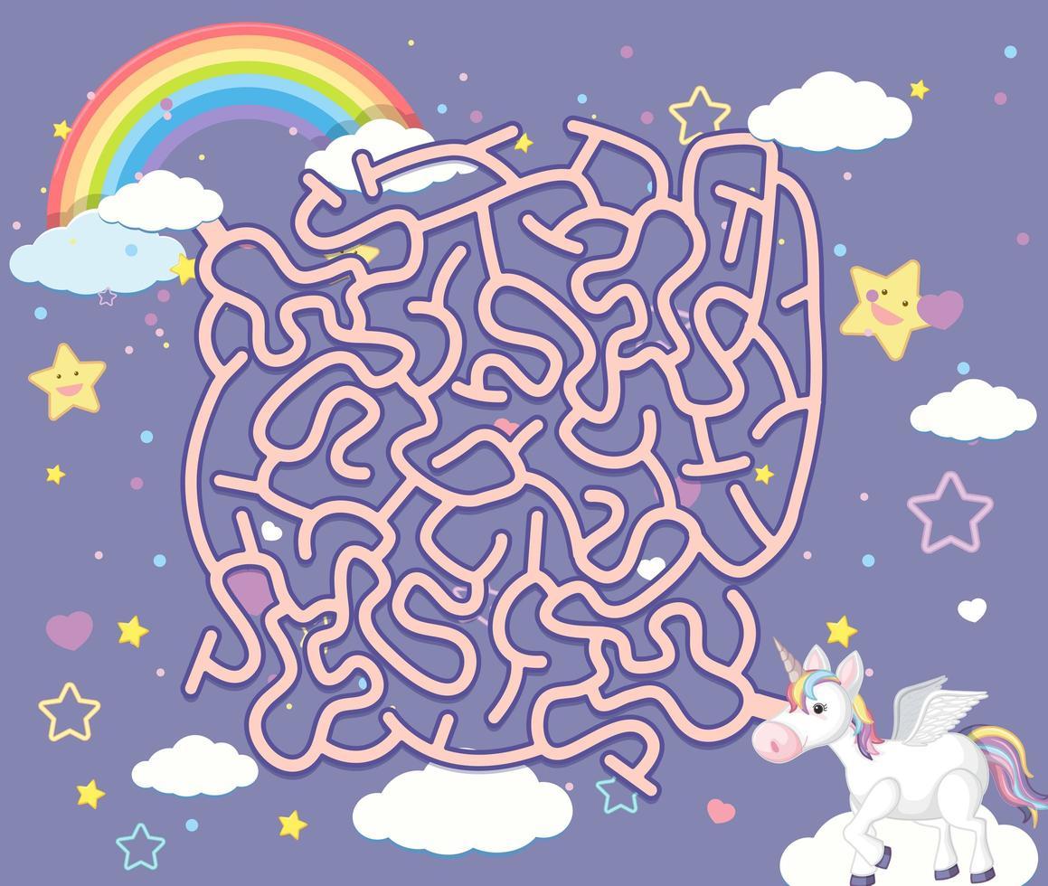 Jeux De Puzzle Un Labyrinthe De Licorne - Telecharger encequiconcerne Jeux De Labyrinthe Gratuit