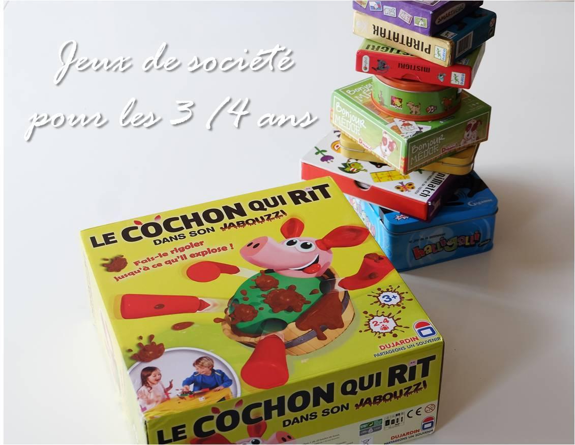 Jeux De Société Pour Les 3 - 4 Ans - Lucky Sophie, Blog pour Jeux De Petit Garçon De 3 Ans