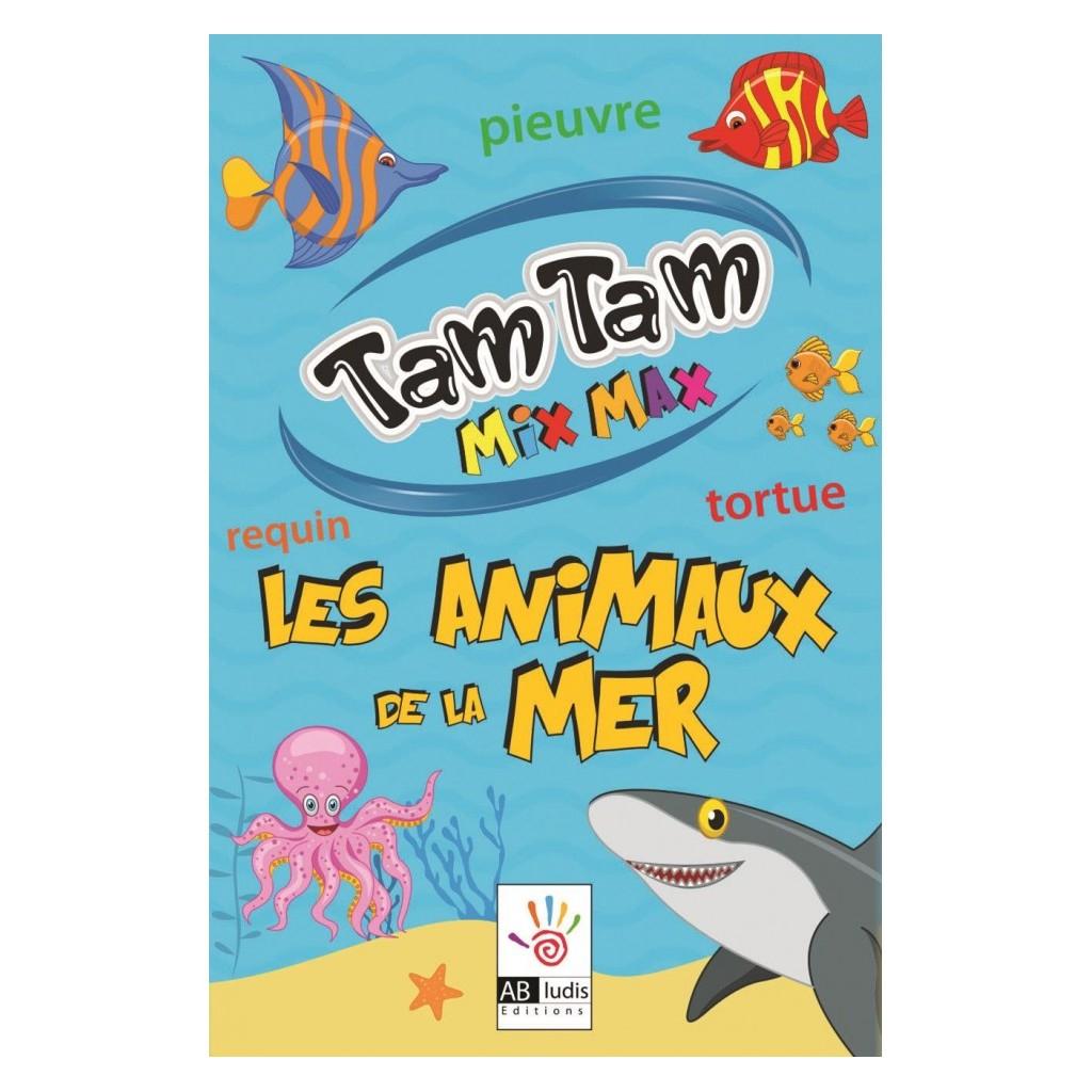 Jeux De Société - Tam Tam Mix Max : Les Animaux De La Mer à Jeu De Societe Requin