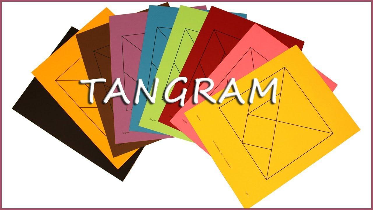 Jeux De Tangram À Imprimer dedans Modèle Tangram À Imprimer