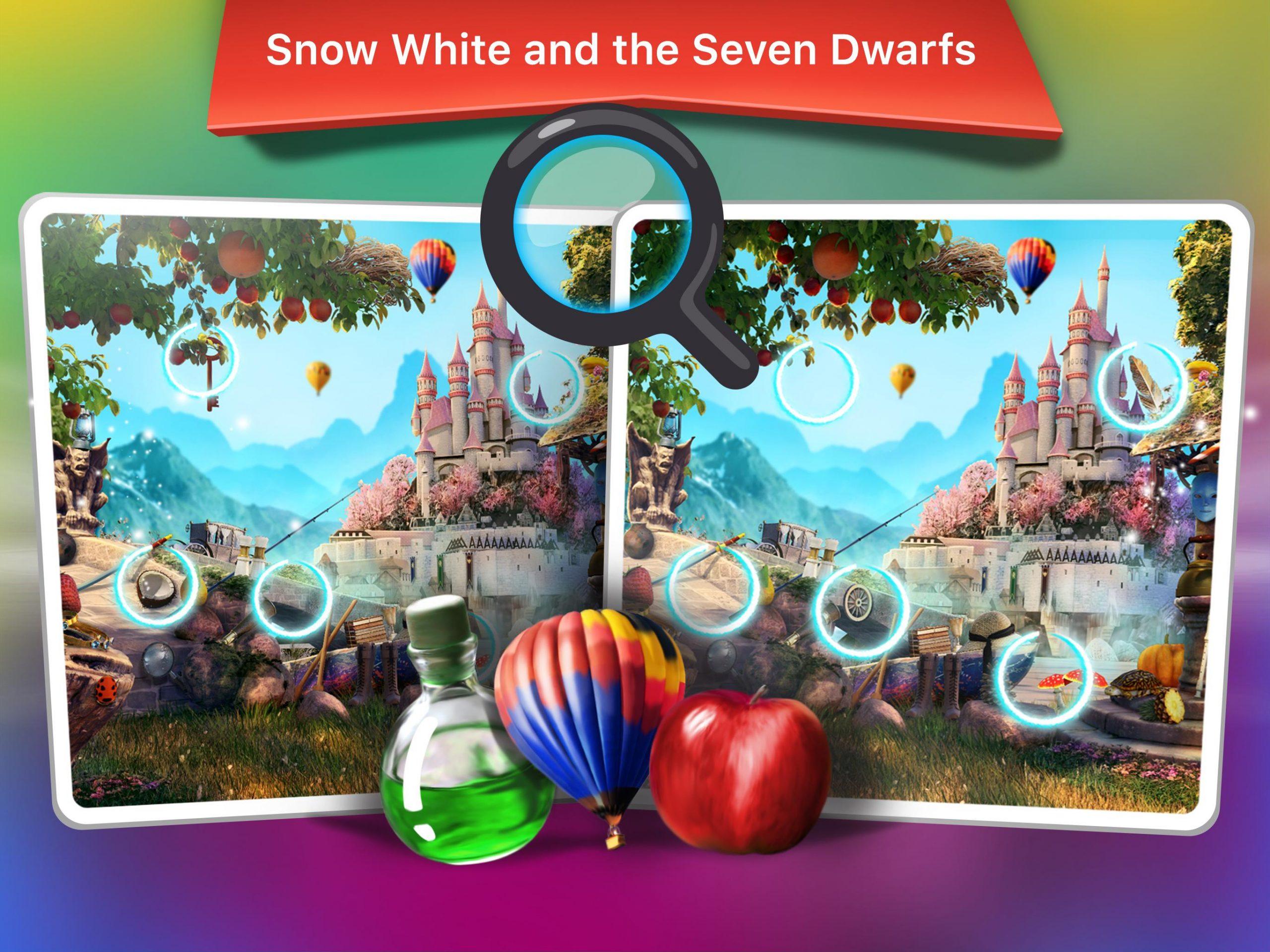 Jeux De Trouver Les Difference - Conte De Fées Pour Android concernant Jeux De Différence