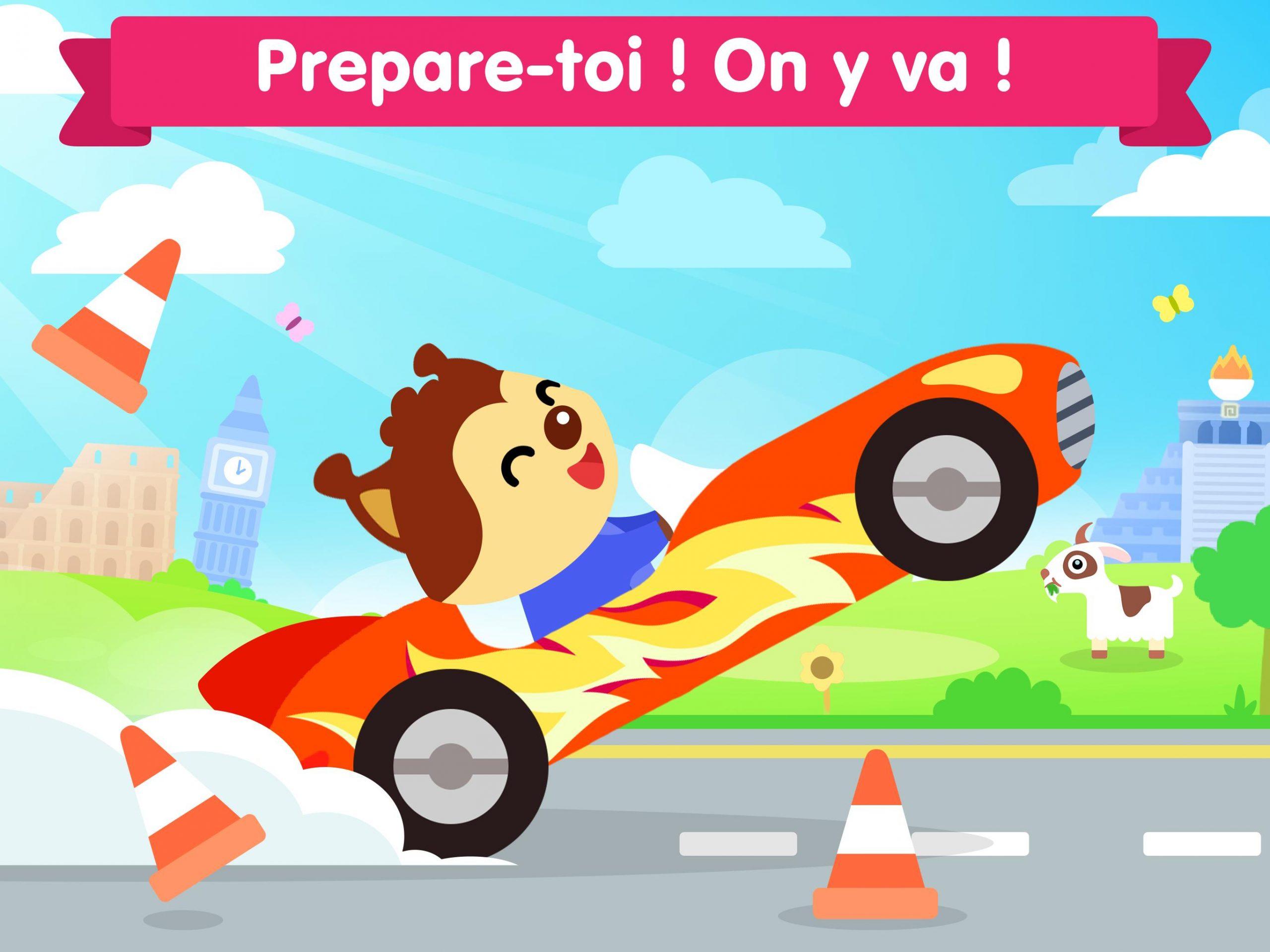 Jeux De Voiture Pour Les Bébés Et Enfants 4 Ans Pour Android destiné Jeux Pour Enfant De 4 Ans