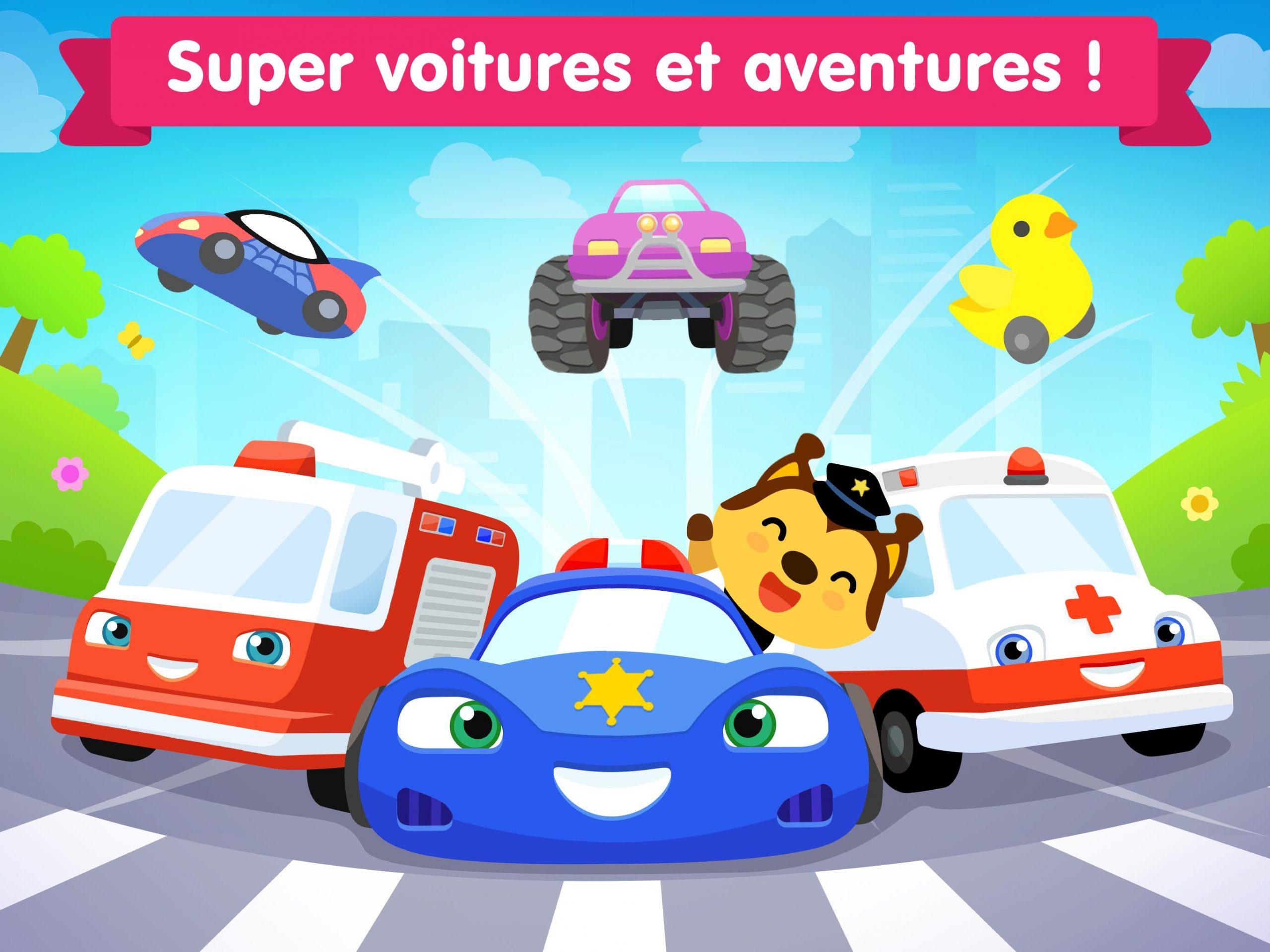Jeux De Voiture Pour Les Bébés Et Enfants 4 Ans Pour Android serapportantà Jeux Pour Enfant De 4 Ans