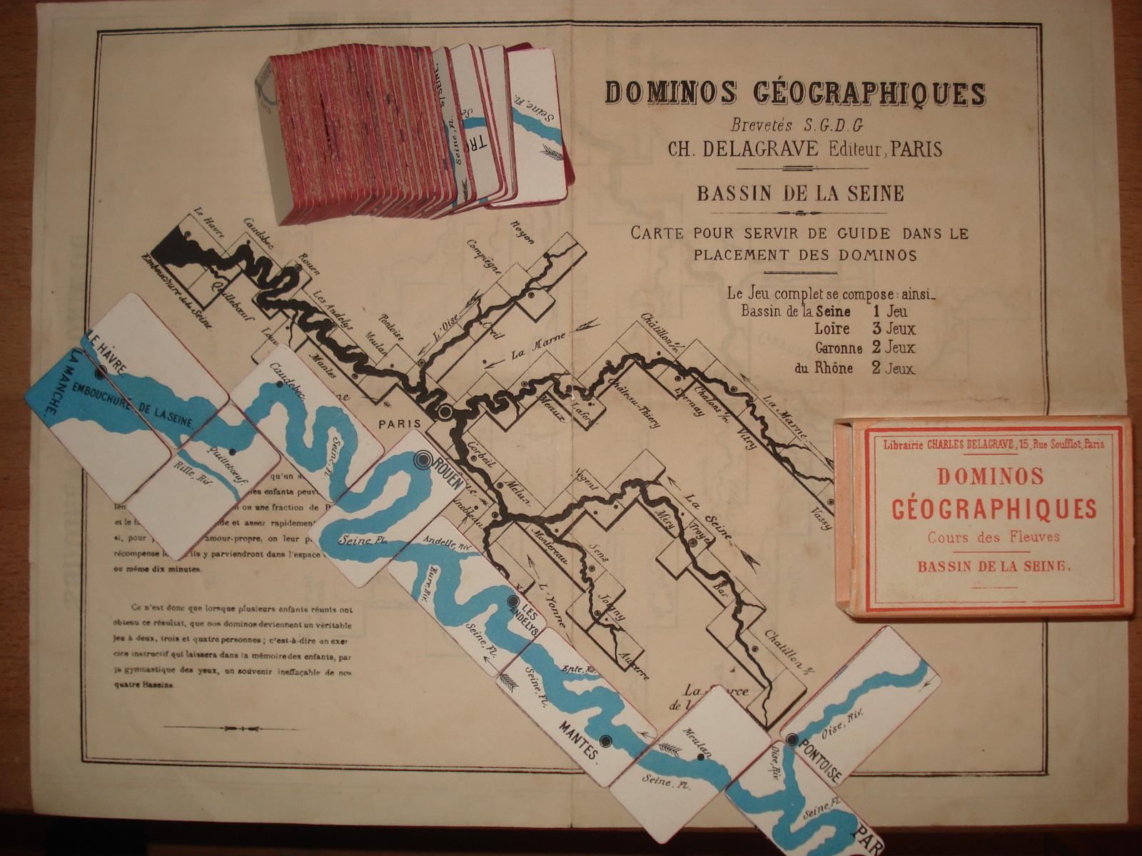 Jeux Delagrave, C'est Du Sérieux - Collection De Jeux Anciens à Jeux Géographique
