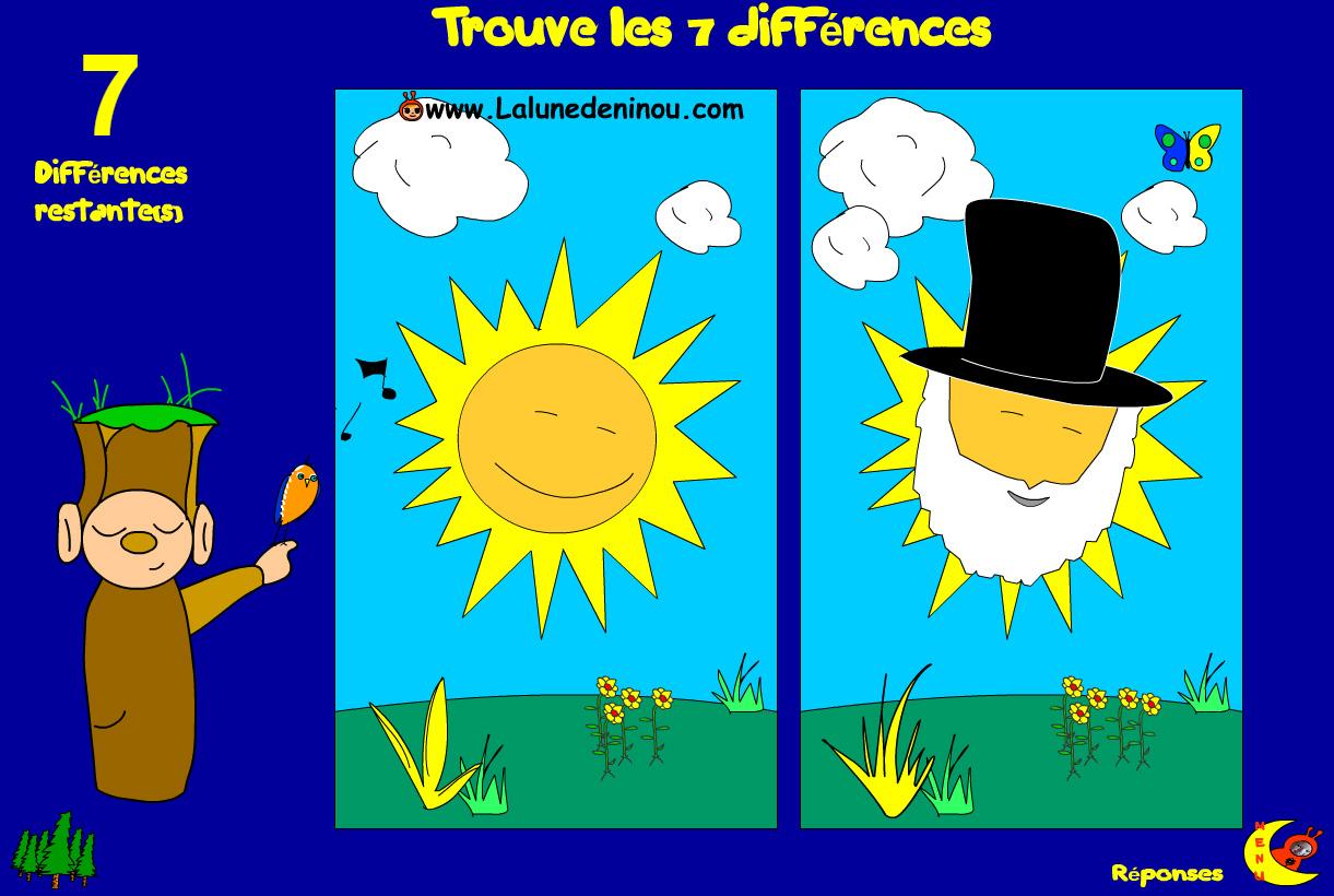 Jeux Des 7 Différences - Le Lutin Des Différences - Jeux pour Jeux Des 7 Différences Gratuit