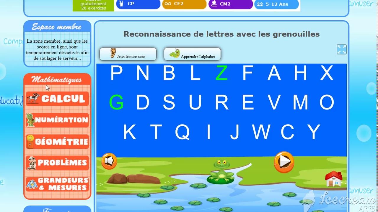 Jeux Educatif Maternelle Francais 2 dedans Jeux Alphabet Maternelle Gratuit