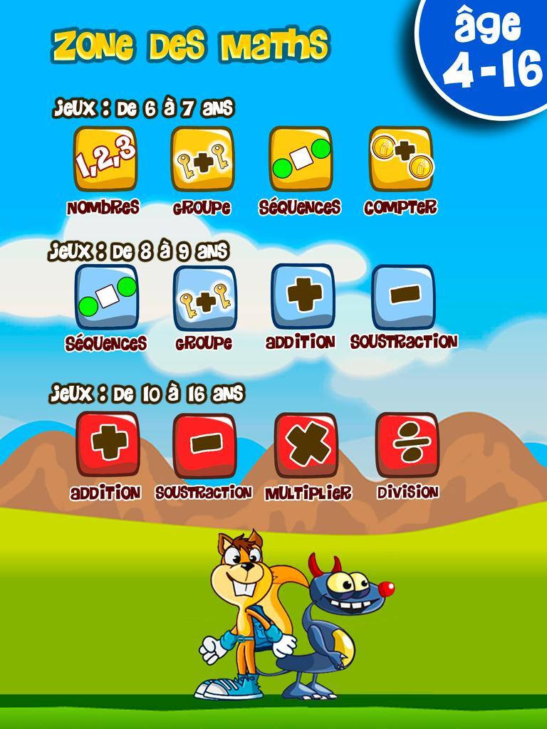 Jeux Éducatifs De Maths Pour Enfants Pour Android intérieur Jeux Educatif 7 Ans