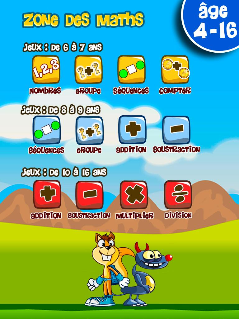 Jeux Éducatifs De Maths Pour Enfants Pour Android intérieur Jeux Educatif Enfant 6 Ans