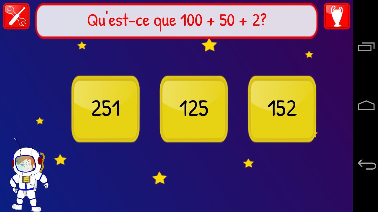 Jeux Éducatifs Maths Ce2 Cm1 Pour Android - Téléchargez L'apk avec Jeux De Matematique
