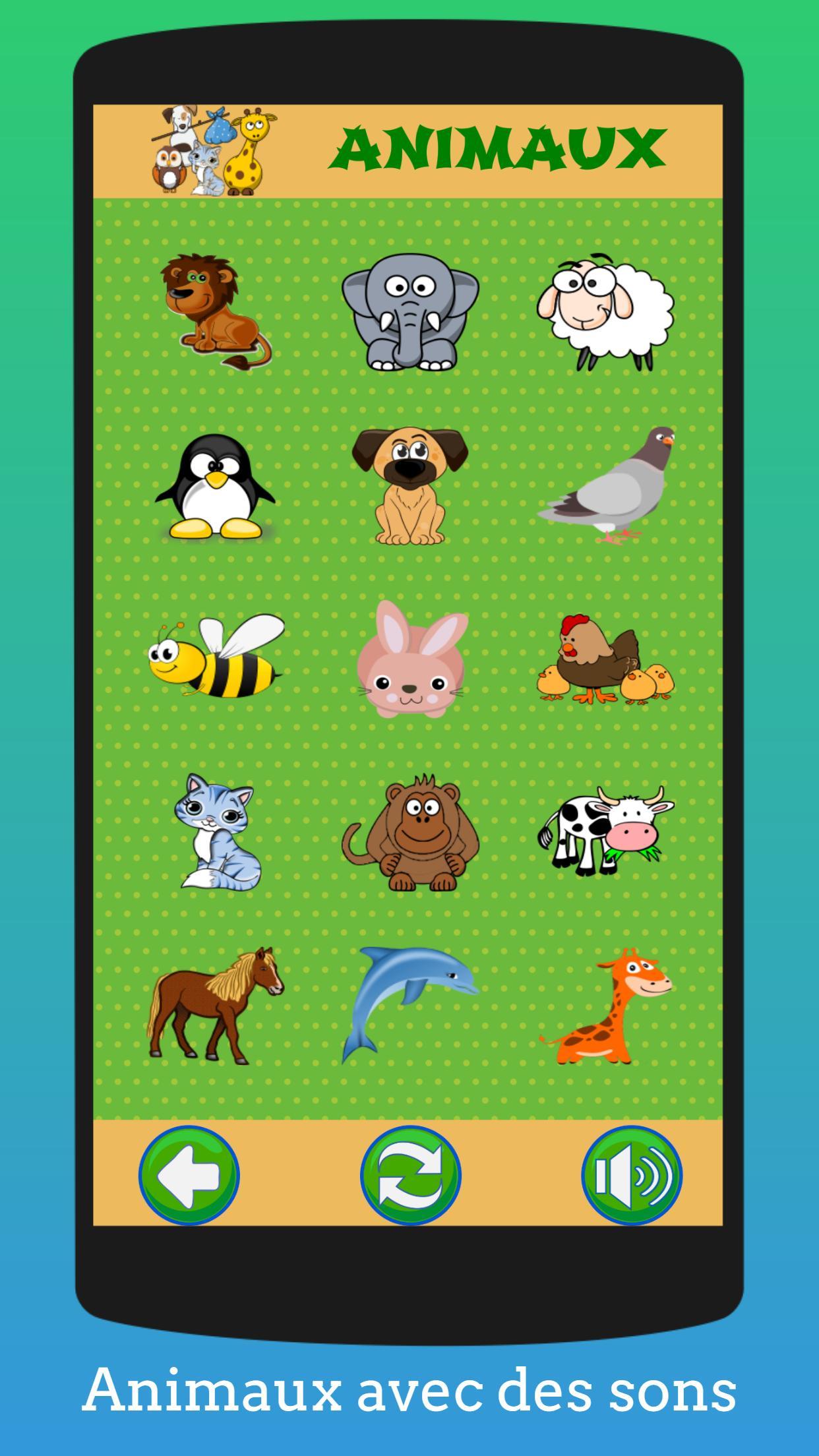 Jeux Éducatifs Pour Enfants (Préscolaire) Français Pour dedans Apprendre Les Animaux Jeux Éducatifs