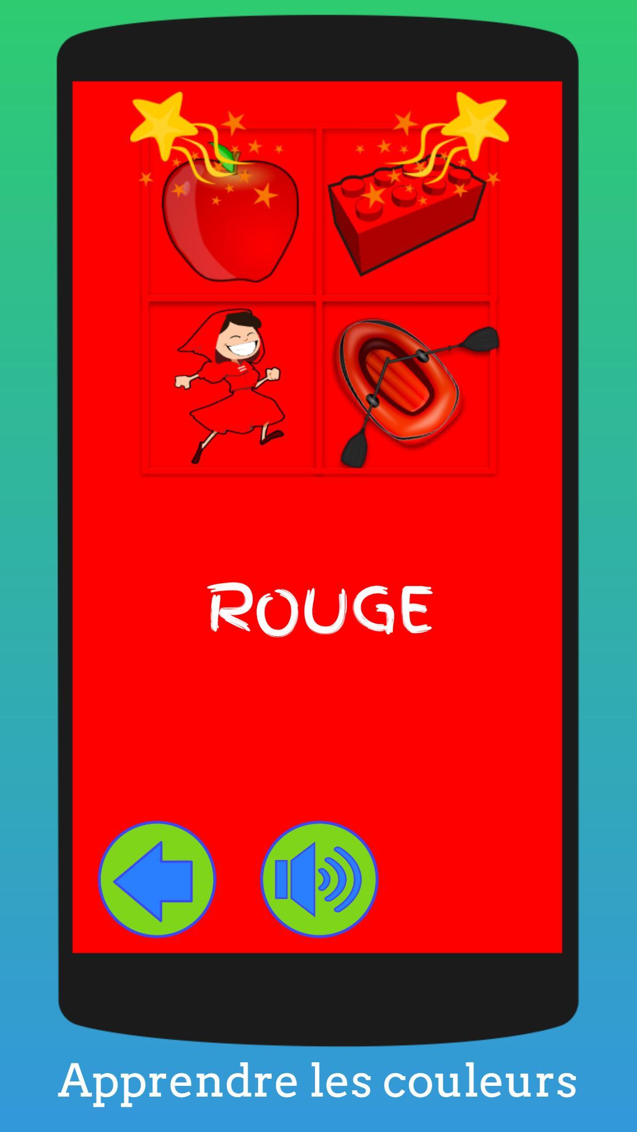 Jeux Éducatifs Pour Enfants (Préscolaire) Français Pour tout Jeux Apprendre Les Couleurs