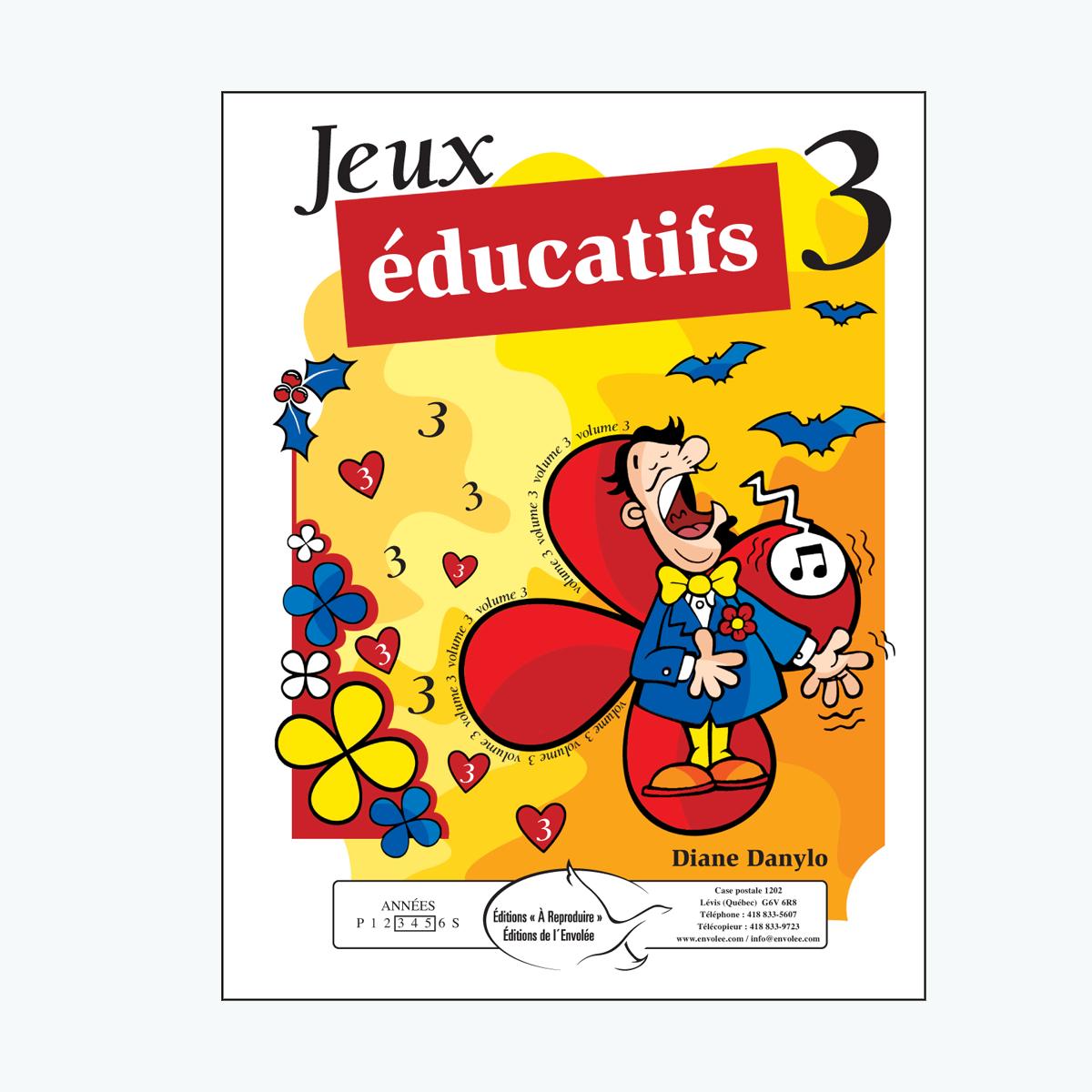 Jeux Éducatifs, Volume 3 - En Pdf - Éditions De L'envolée serapportantà Les Jeux Educatif