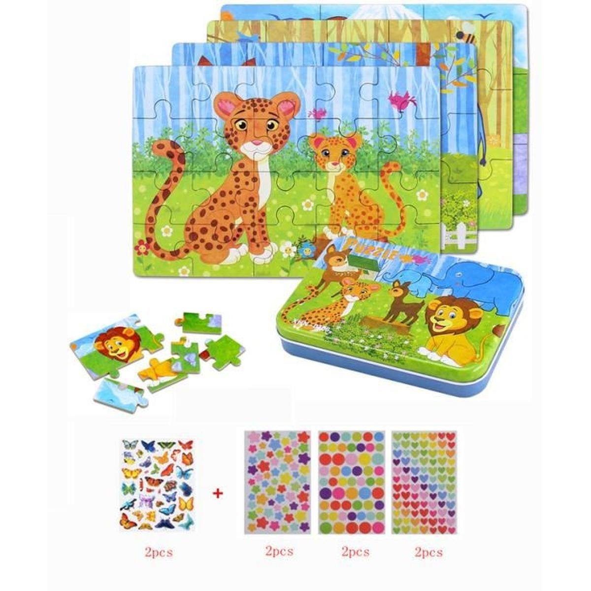 Jeux Et Jouets Uping Puzzle Magnetique Bois Avec Tableau dedans Jeu Educatif 3 Ans