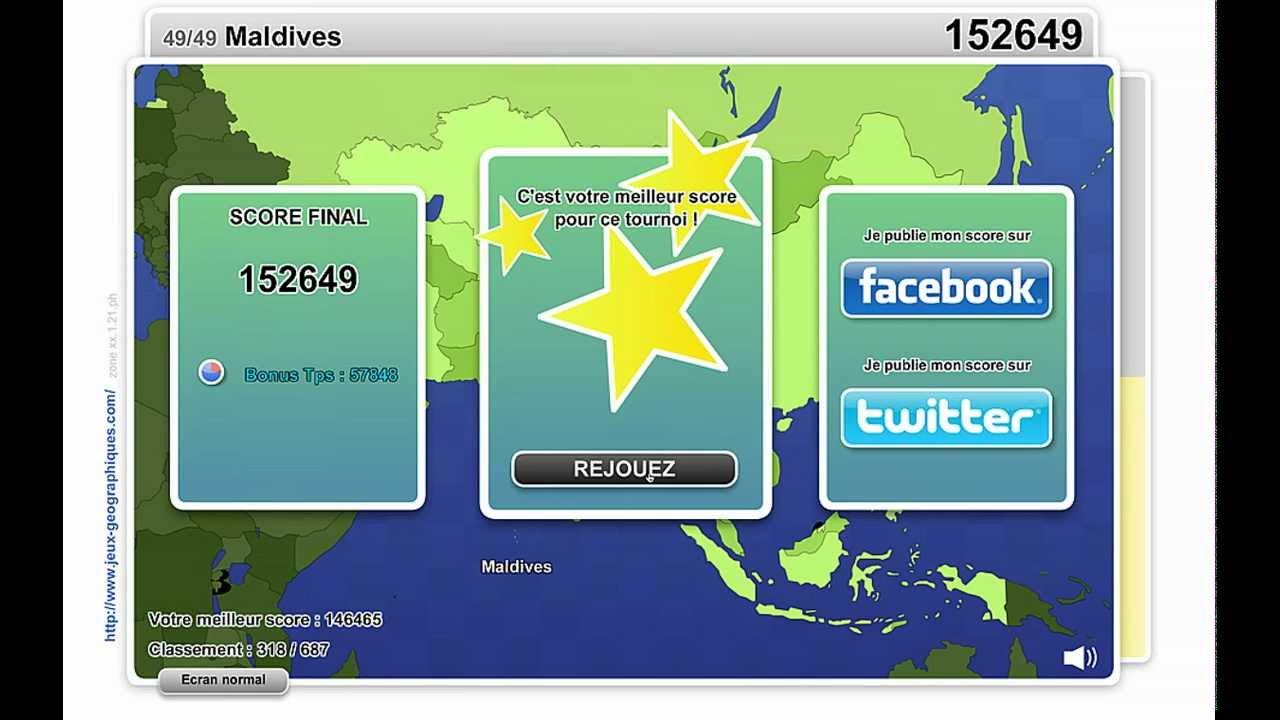 Jeux-Geo Tournois Du 30 Mai 2012, Géo Quizz Asie, Partie De concernant Jeux Geographique