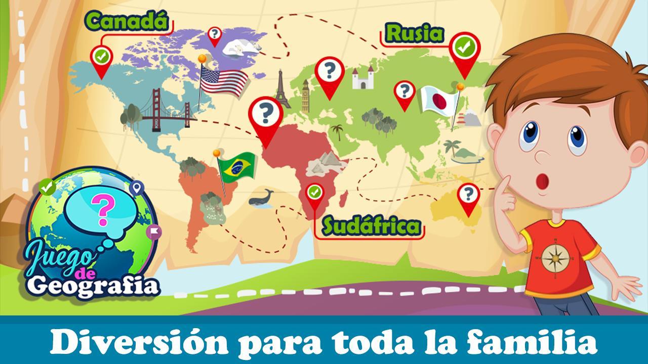 Jeux Géographique - Carte Du Monde Pour Android pour Jeux Géographique