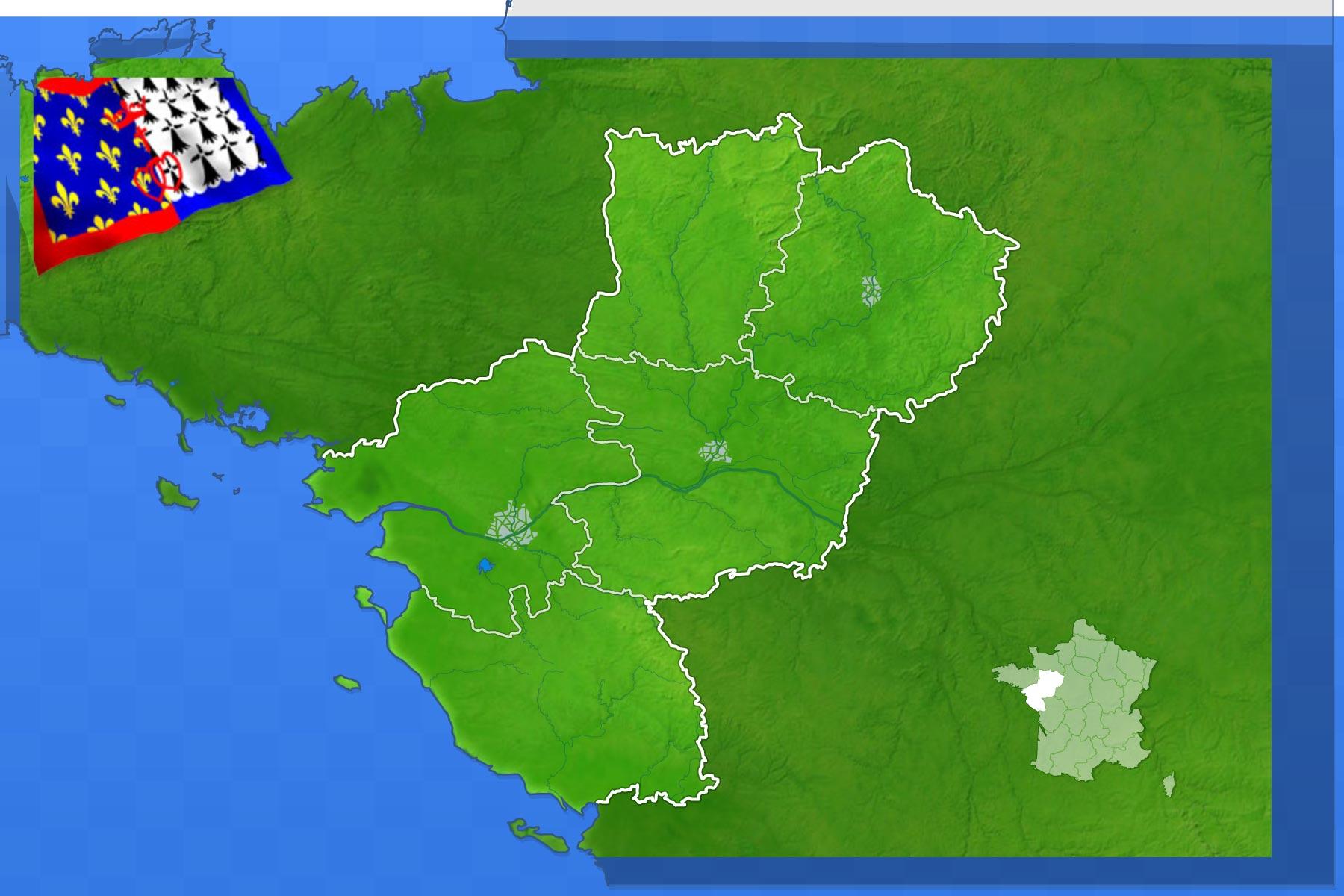 Jeux-Geographiques Jeux Gratuits Villes Des Pays De La Loire concernant Jeux Geographique