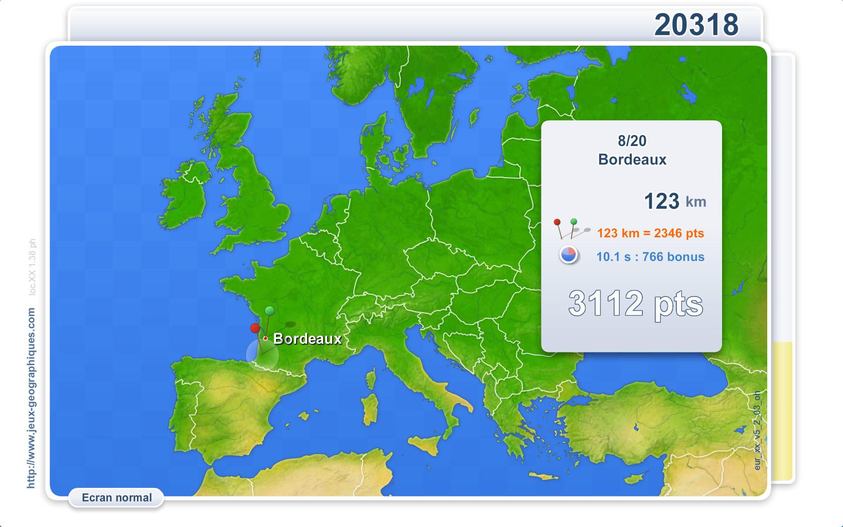 Jeux-Geographiques : Plus De 80 Jeux Gratuits De destiné Jeu Geographie Ville De France
