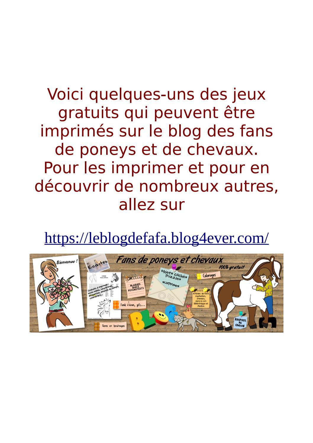 Jeux Gratuits À Imprimer By Sombart Marie - Issuu intérieur Labyrinthe A Imprimer