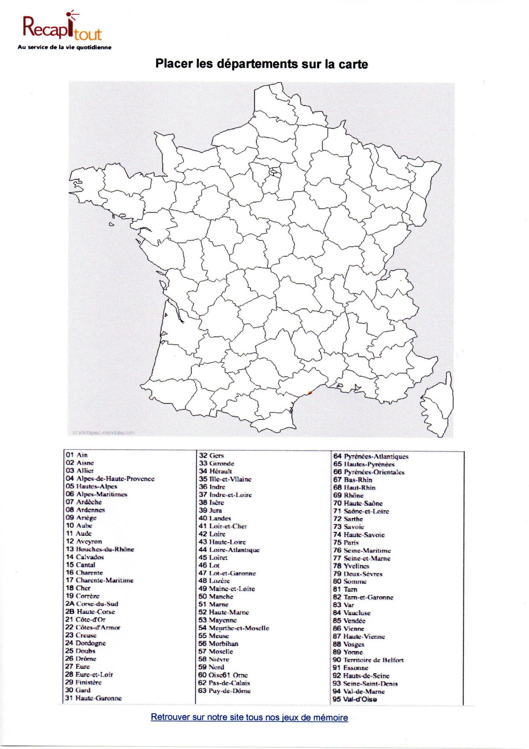 Jeux Gratuits Departements Francais #jeuxdepartements avec Jeux Des Départements Français