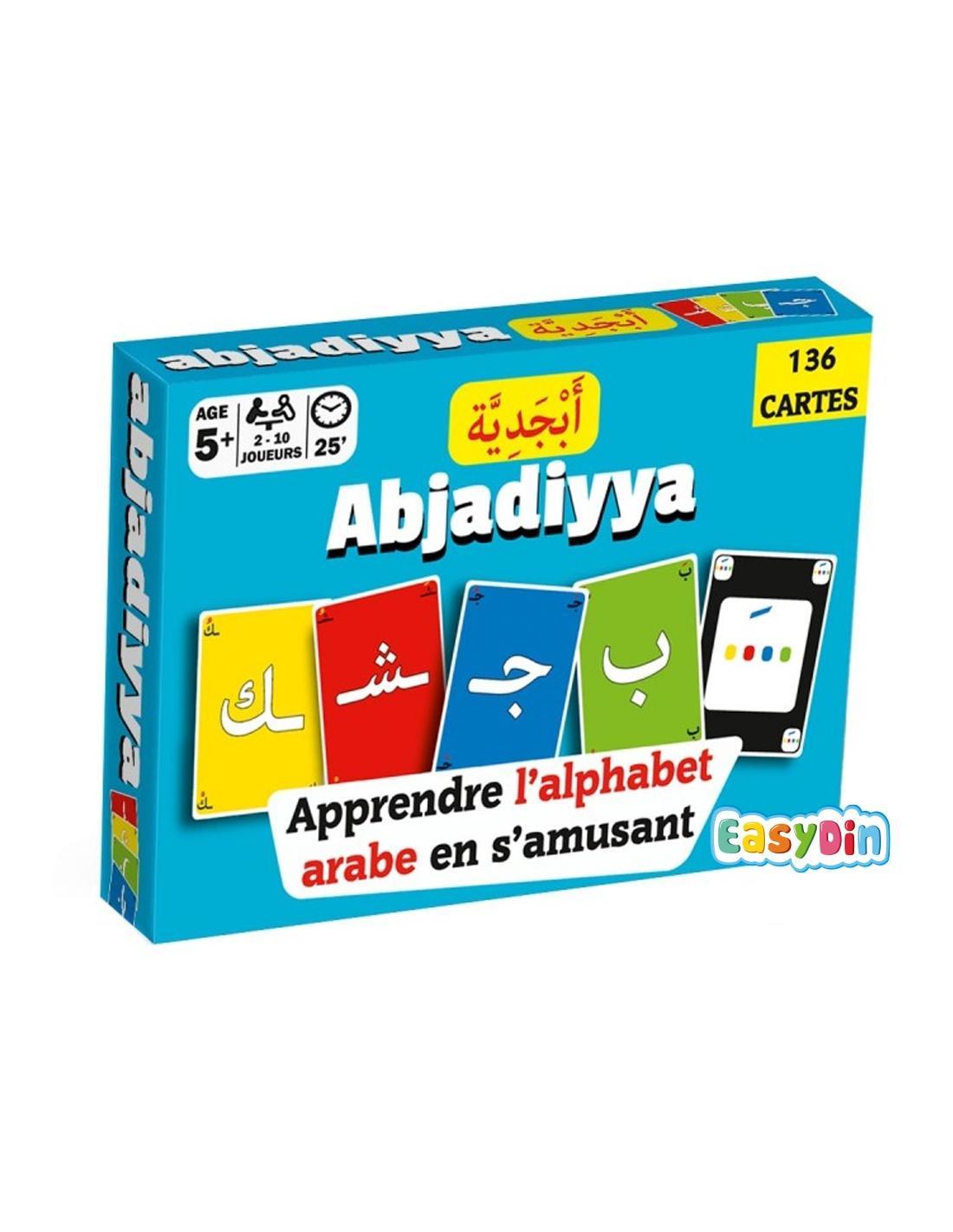 Jeux Islamique, Jeu De Cartes - Apprendre L'alphabet Arabe intérieur Jeux Pour Apprendre L Alphabet