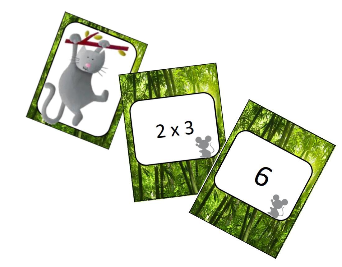 Jeux - Les Tables De Multiplication De 2 À 9 - L Ecole De à Tables De Multiplication Jeux À Imprimer