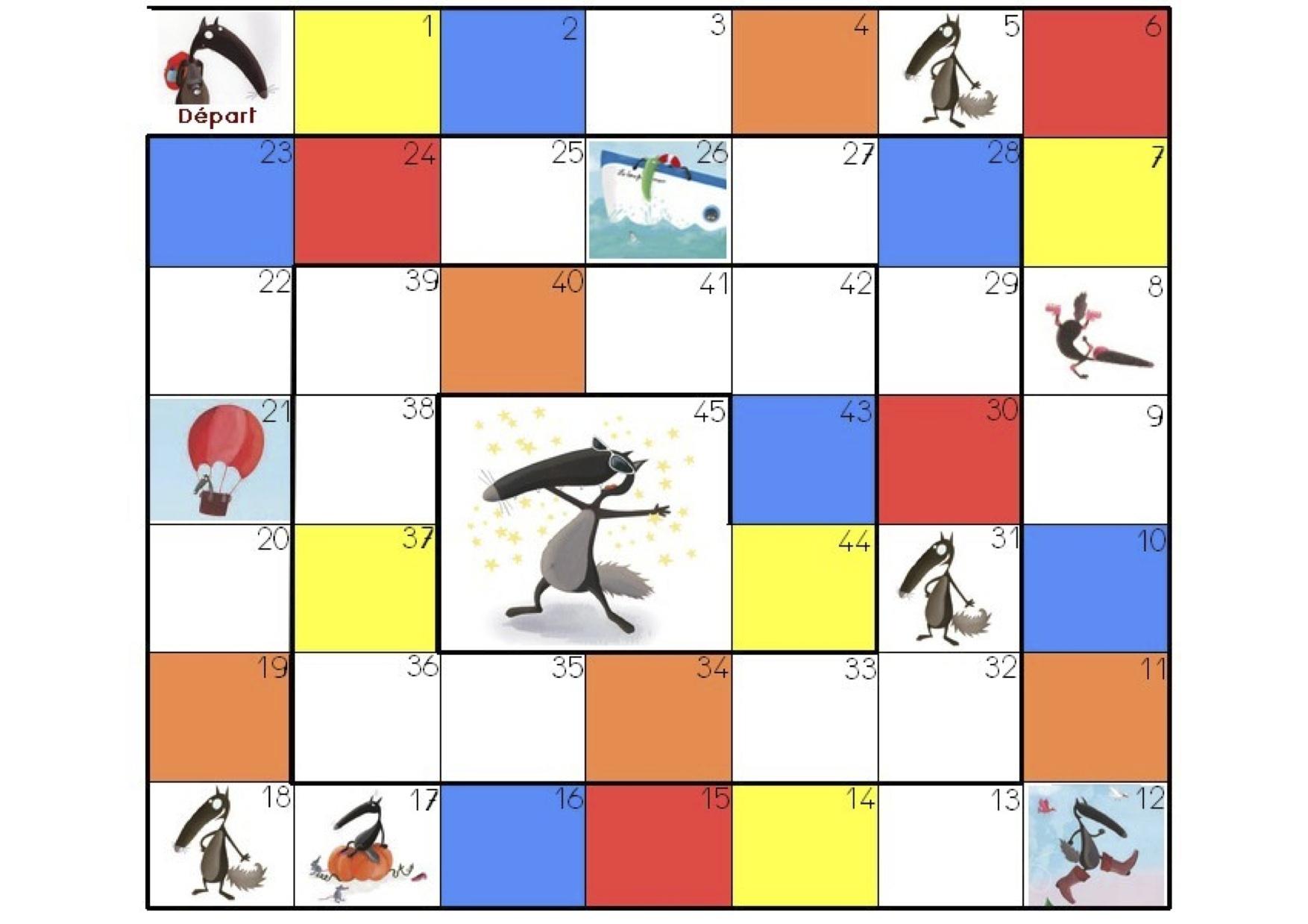 Jeux Loup – Une Instit De Plus destiné Jeux De Maternelle À Imprimer