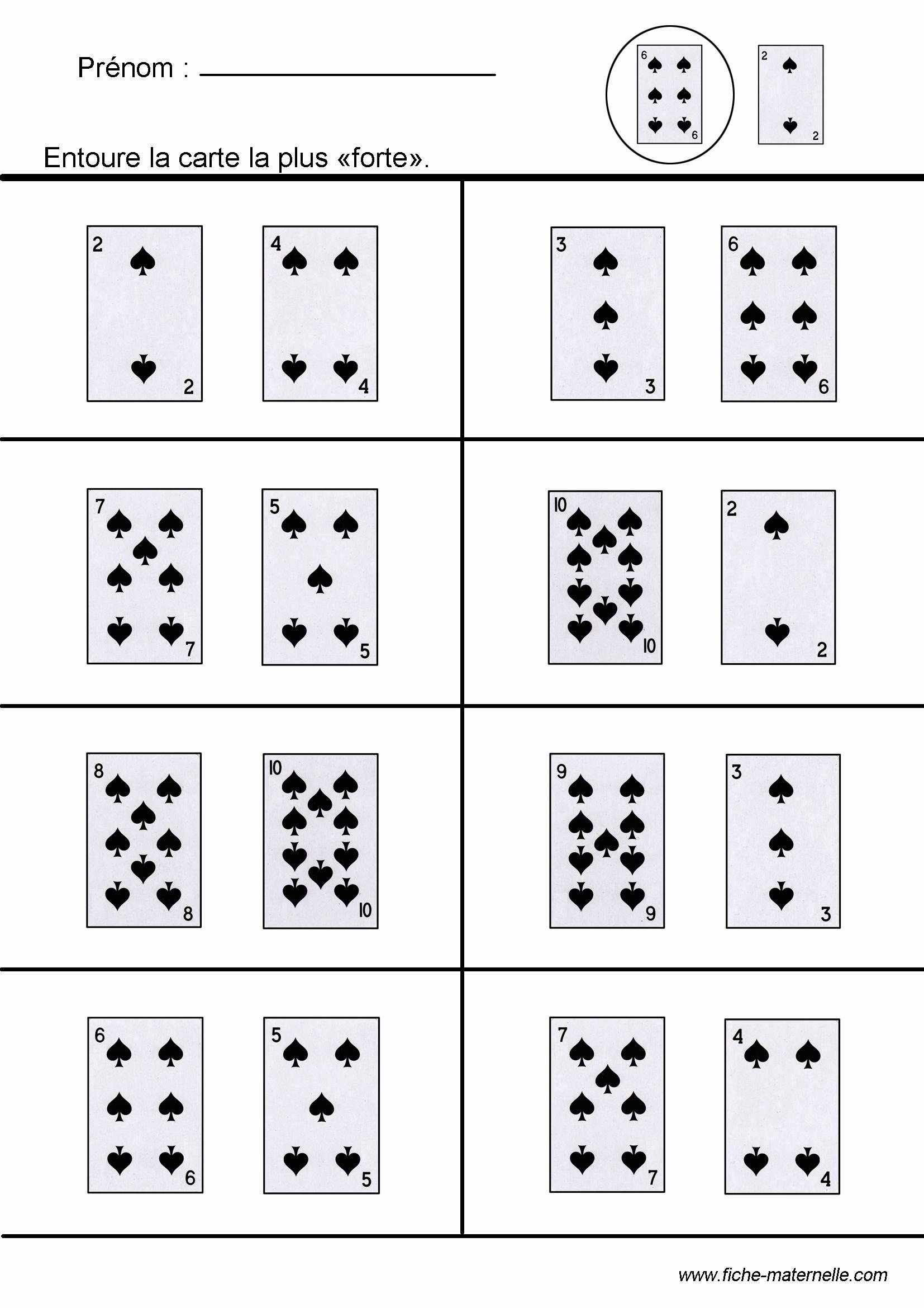 Jeux Mathématiques Pour Apprendre À Compter, Dénombrer encequiconcerne Jeux Mathématiques À Imprimer
