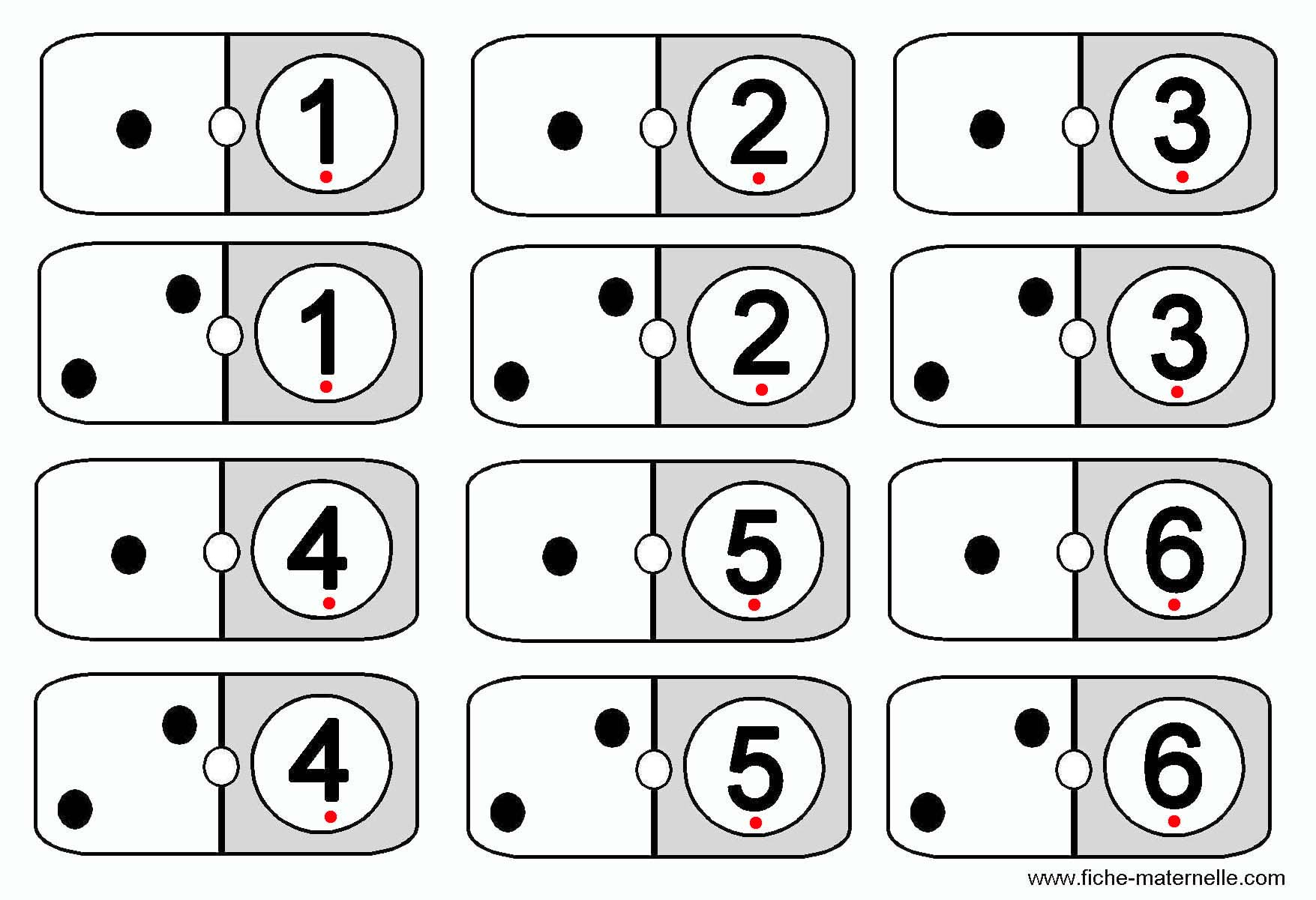 Jeux Mathématiques Pour Apprendre À Compter En Maternelle. dedans Jeux De Maternelle À Imprimer
