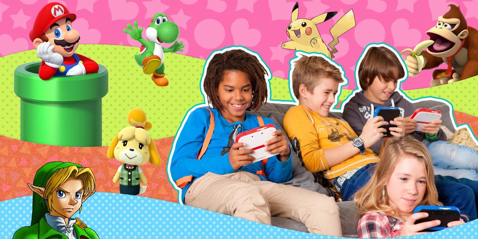 Jeux Nintendo Pour Les Enfants | Nintendo serapportantà Jeux Video Enfant 5 Ans