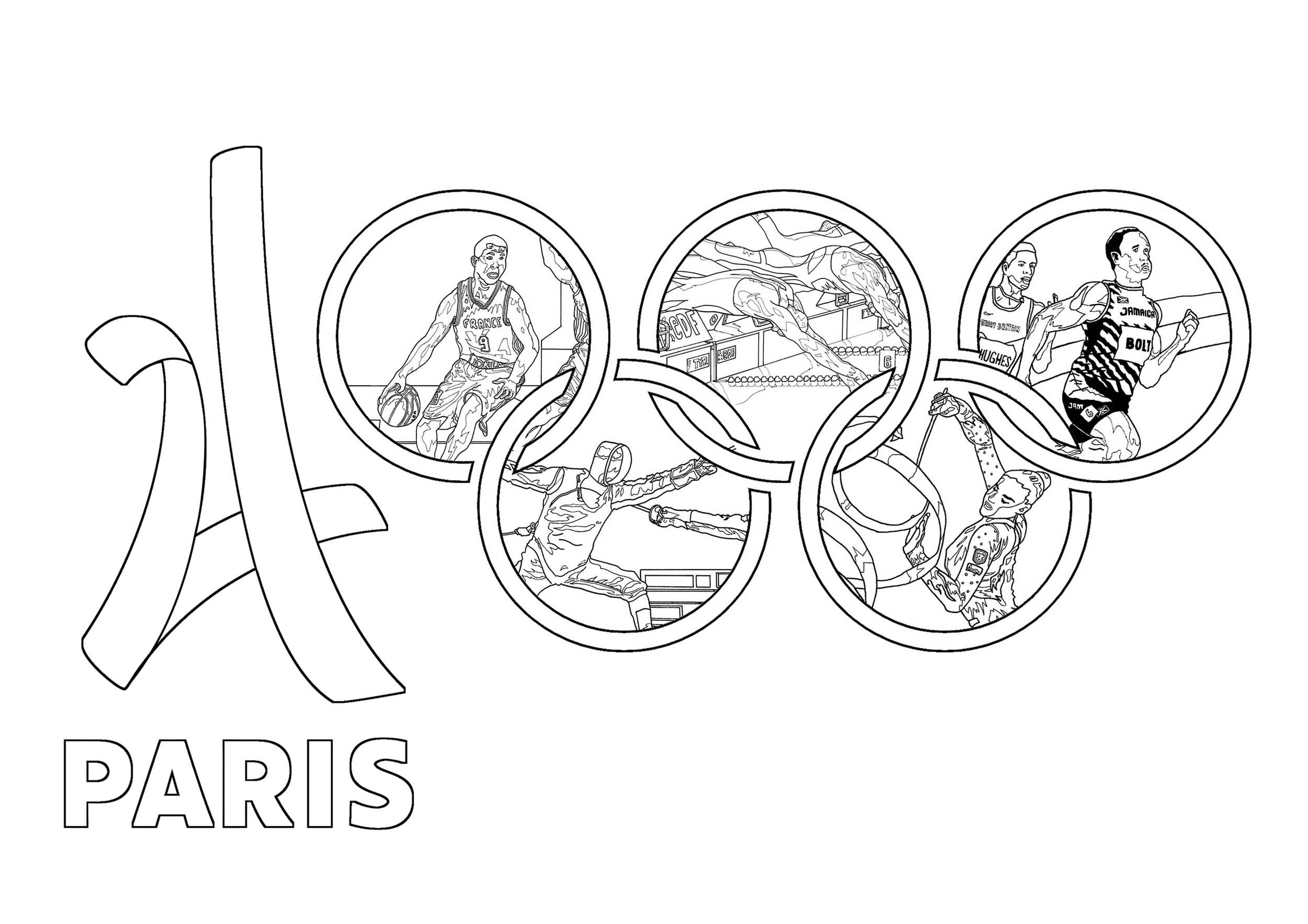 Jeux Olympiques - Sport / Jeux Olympiques - Coloriages encequiconcerne Jeux Gratuits À Imprimer Pour Adultes