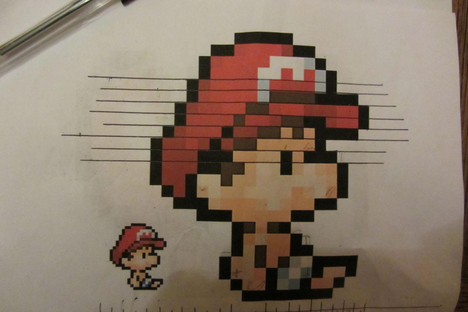 Jeux Pixel Art En Ligne concernant Jeux Dessin Pixel