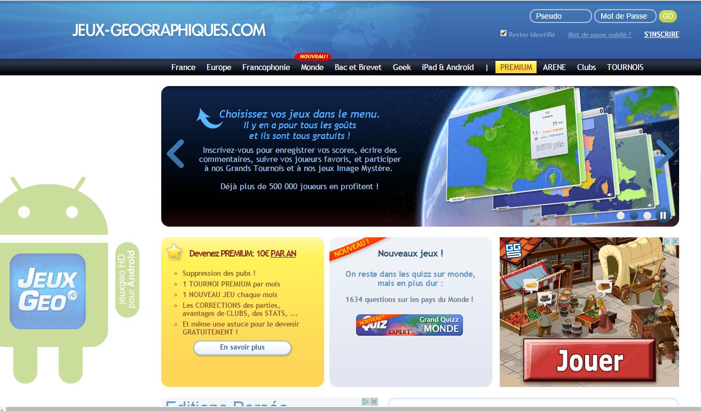 Jeux Pour Apprendre La Géographie - Ressources Pour S'amuser concernant Jeux Geographique