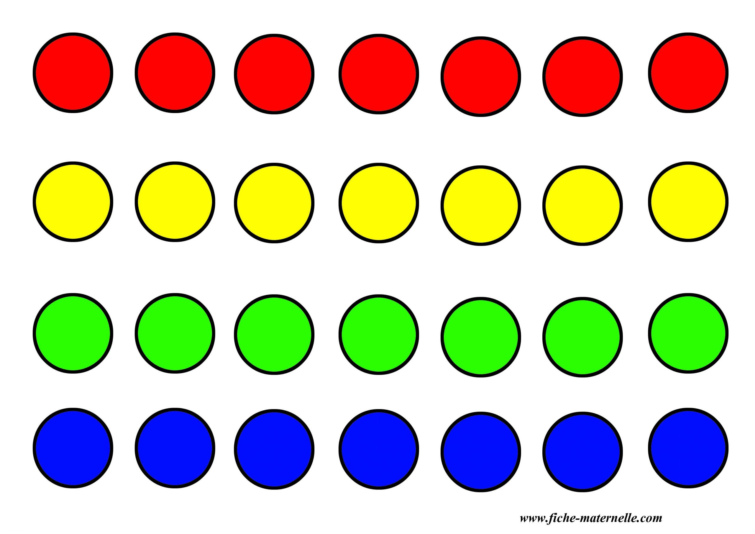 Jeux Pour Apprendre Les Couleurs En Maternelle A Imprimer intérieur Jeux De Maternelle À Imprimer