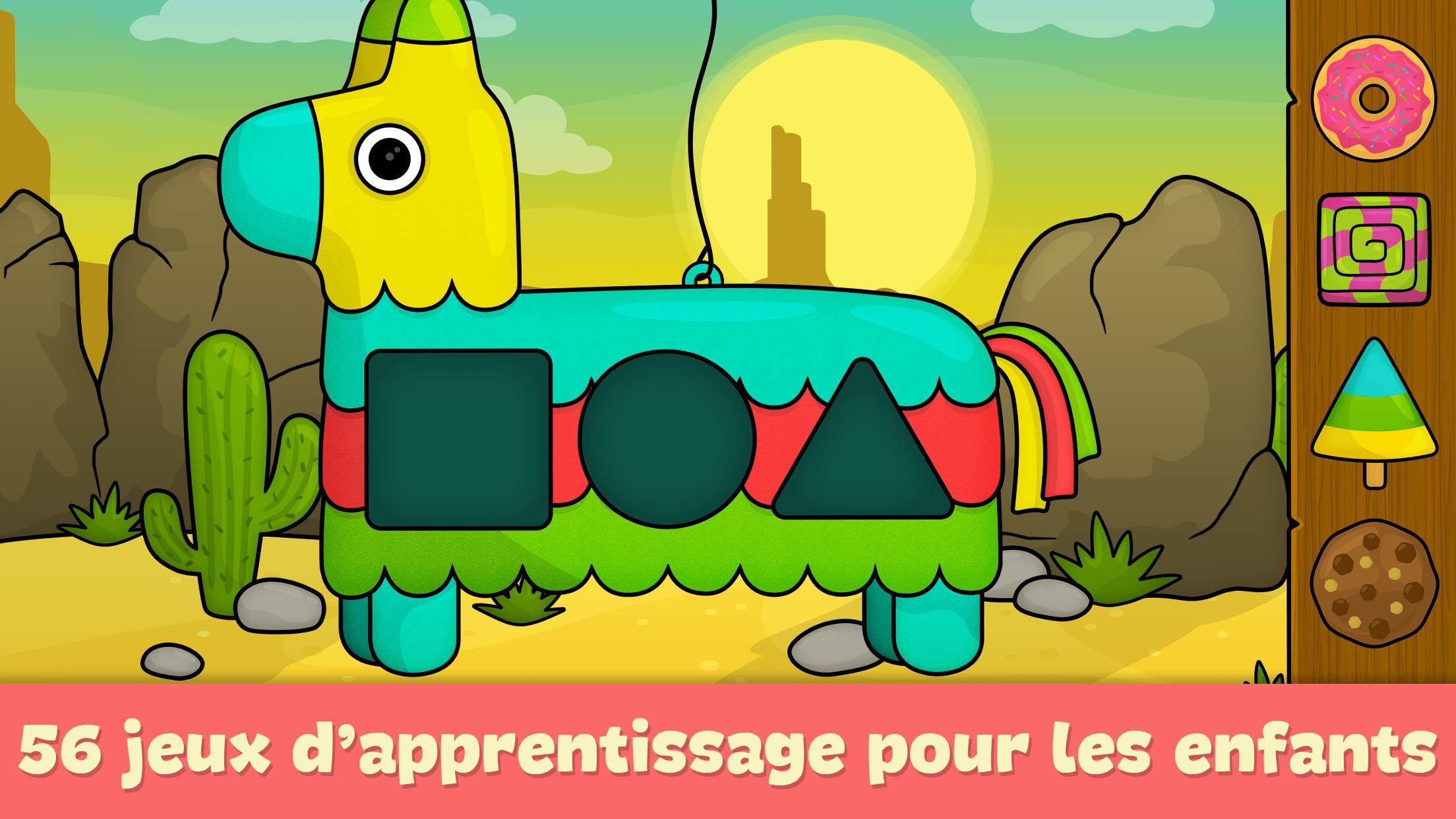 Jeux Pour Enfants 2 - 5 Ans Pour Android - Téléchargez L'apk à Jeux Educatif Gratuit 4 Ans