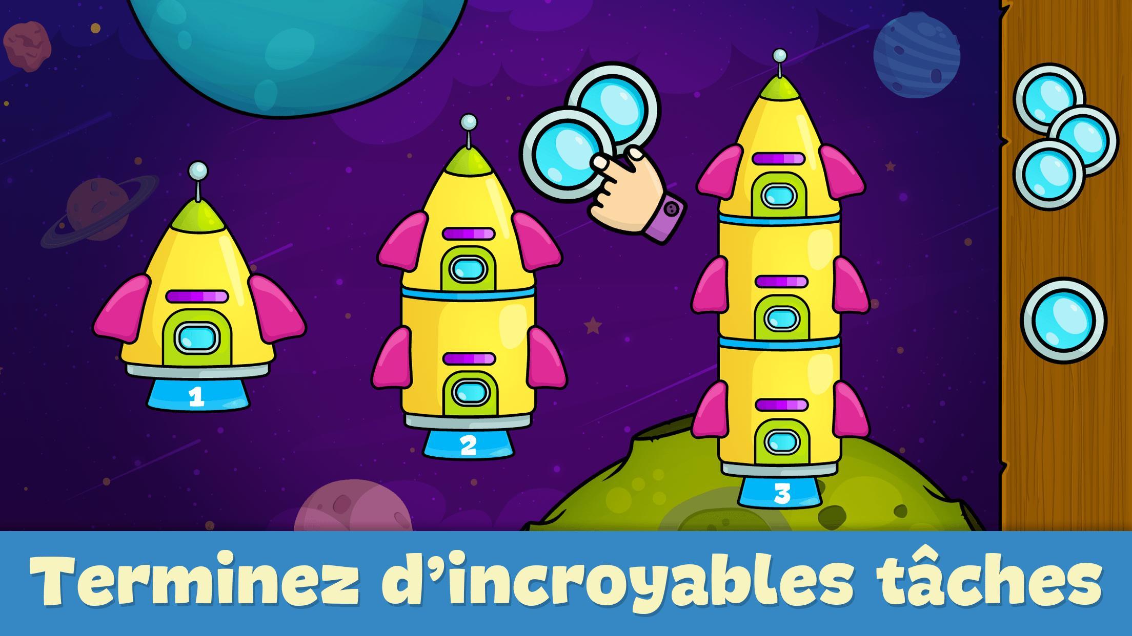 Jeux Pour Enfants 2 - 5 Ans Pour Android - Téléchargez L'apk intérieur Jeux Gratuit Enfant De 3 Ans