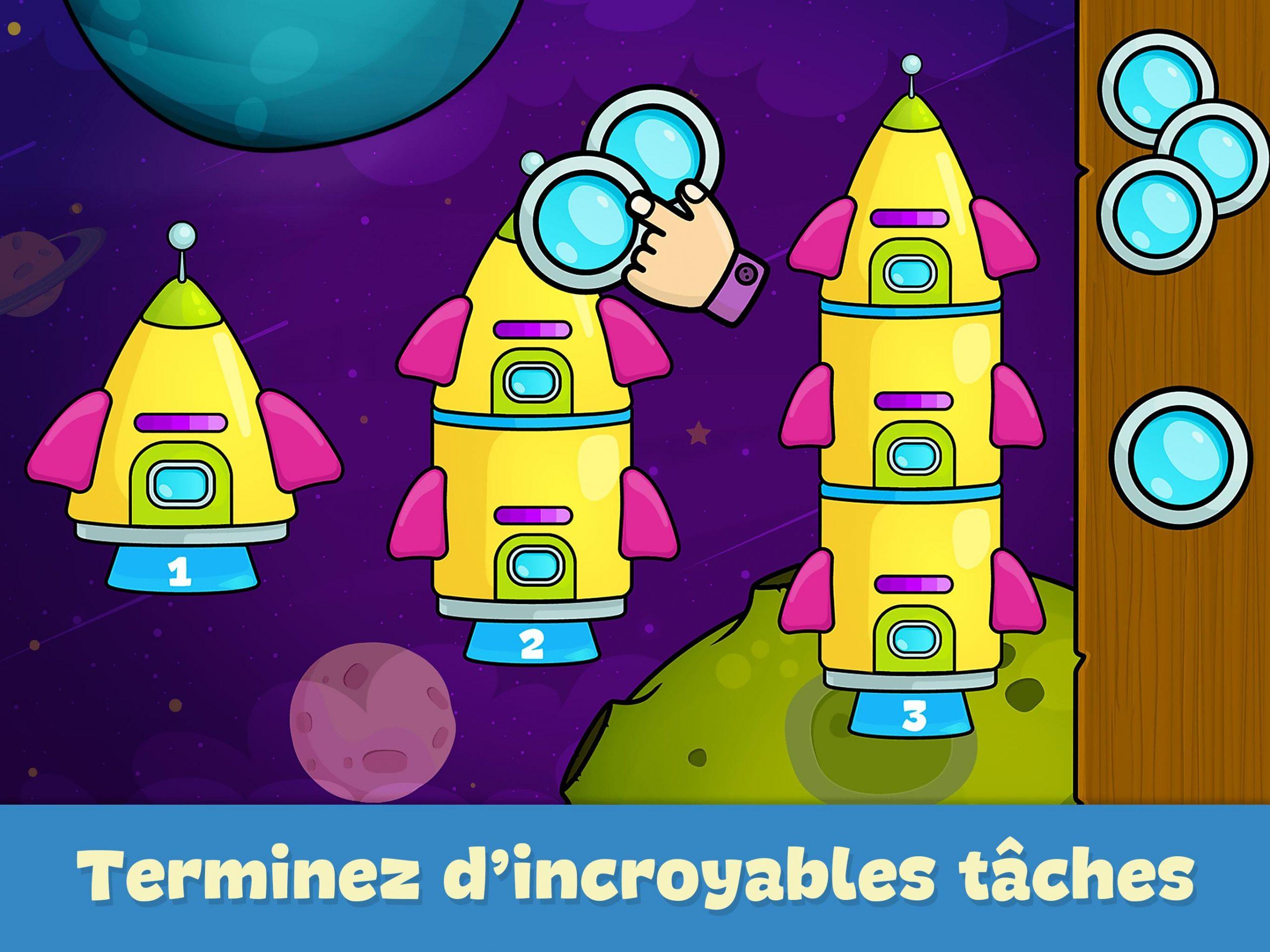 Jeux Pour Enfants 2 - 5 Ans Pour Android - Téléchargez L'apk pour Jeux Educatif Gratuit Pour Fille De 5 Ans