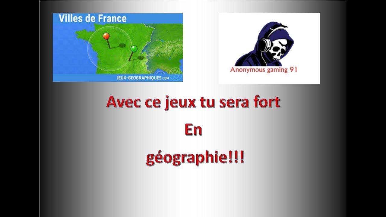 Jeux Pour Être Fort En Geo!!!! serapportantà Jeu Geographie Ville De France
