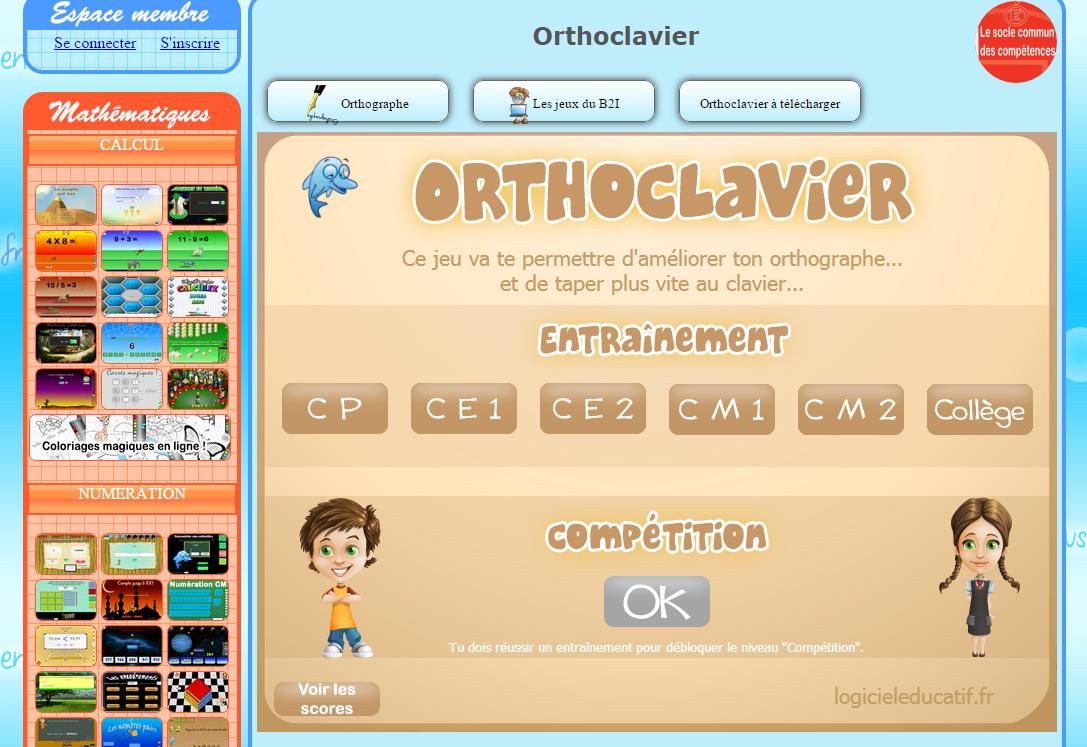 Jeux Pour Maîtriser Le Clavier - Ressources Pour S'amuser dedans Jeux Éducatifs En Ligne Cp