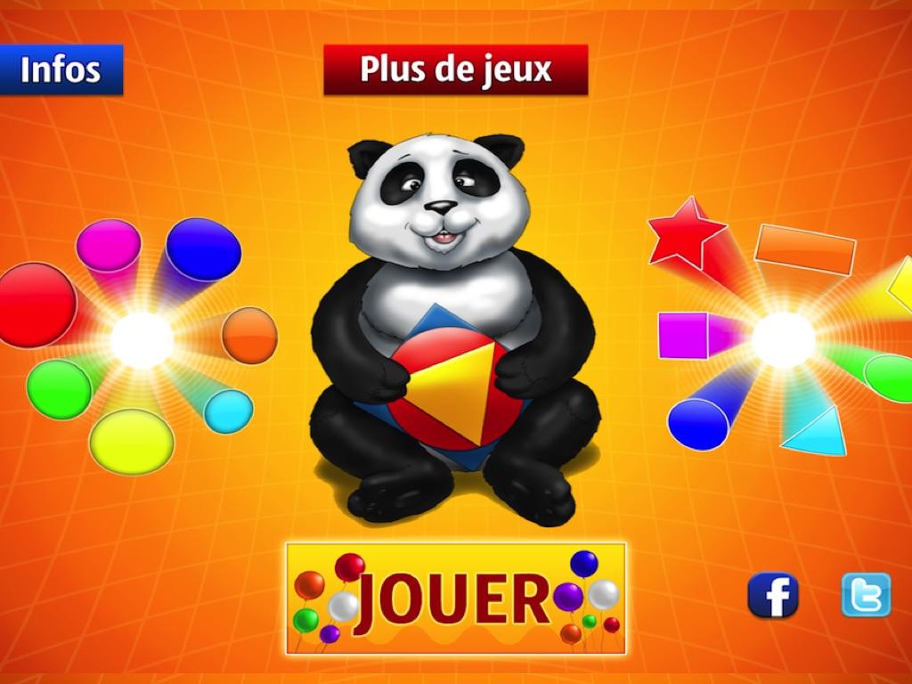 Jeux Préscolaires : Les Couleurs Et Les Formes - Online Game serapportantà Jeux Apprendre Les Couleurs
